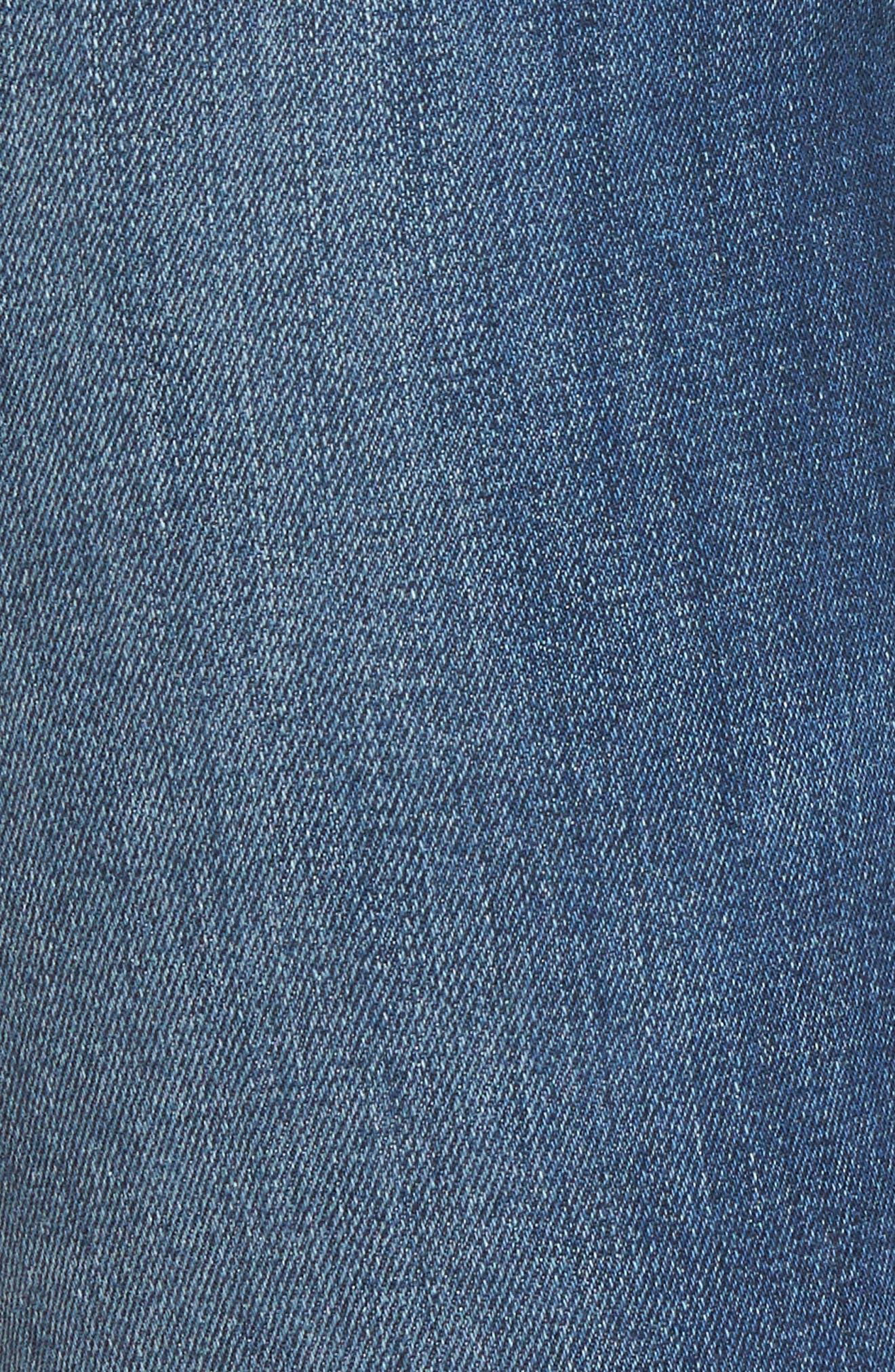 Icon Ankle Skinny Jeans,                             Alternate thumbnail 6, color,                             FERRA