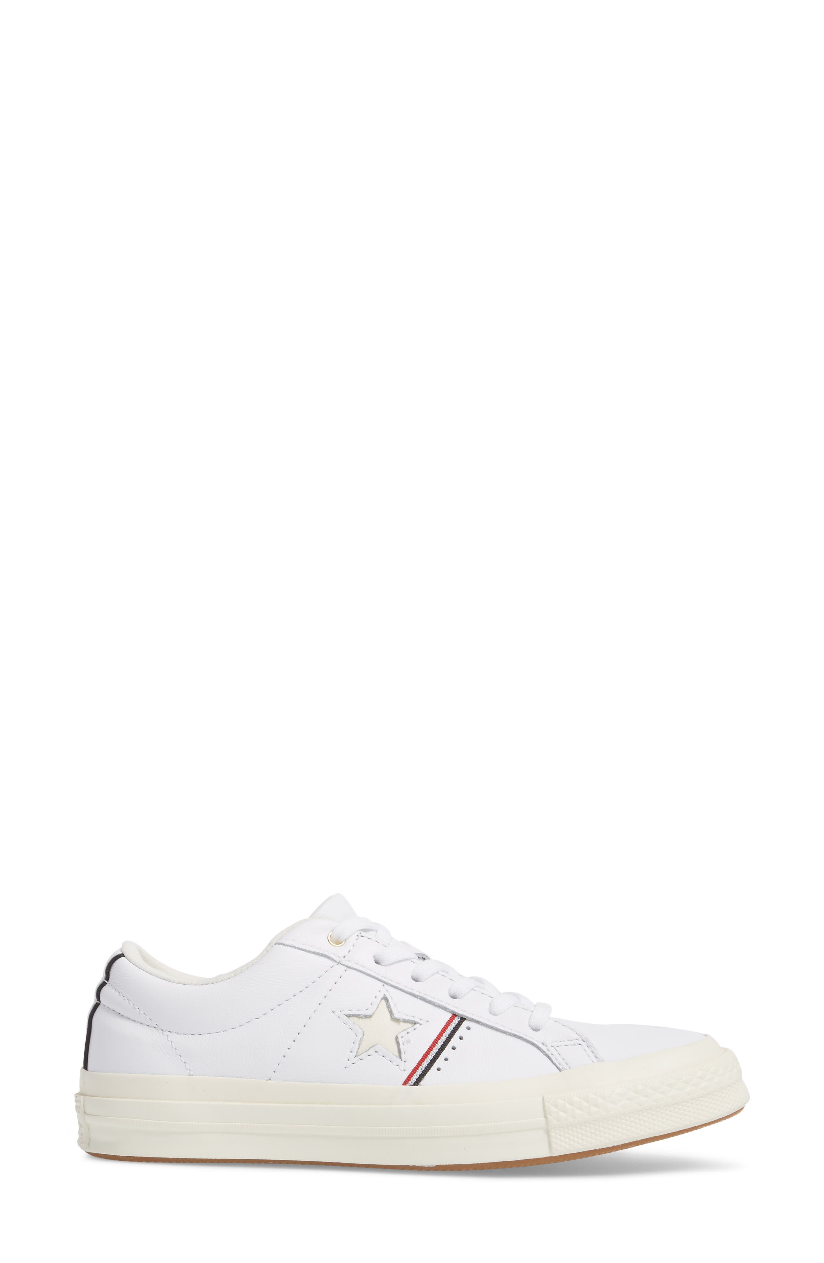 One Star Piping Sneaker,                             Alternate thumbnail 8, color,
