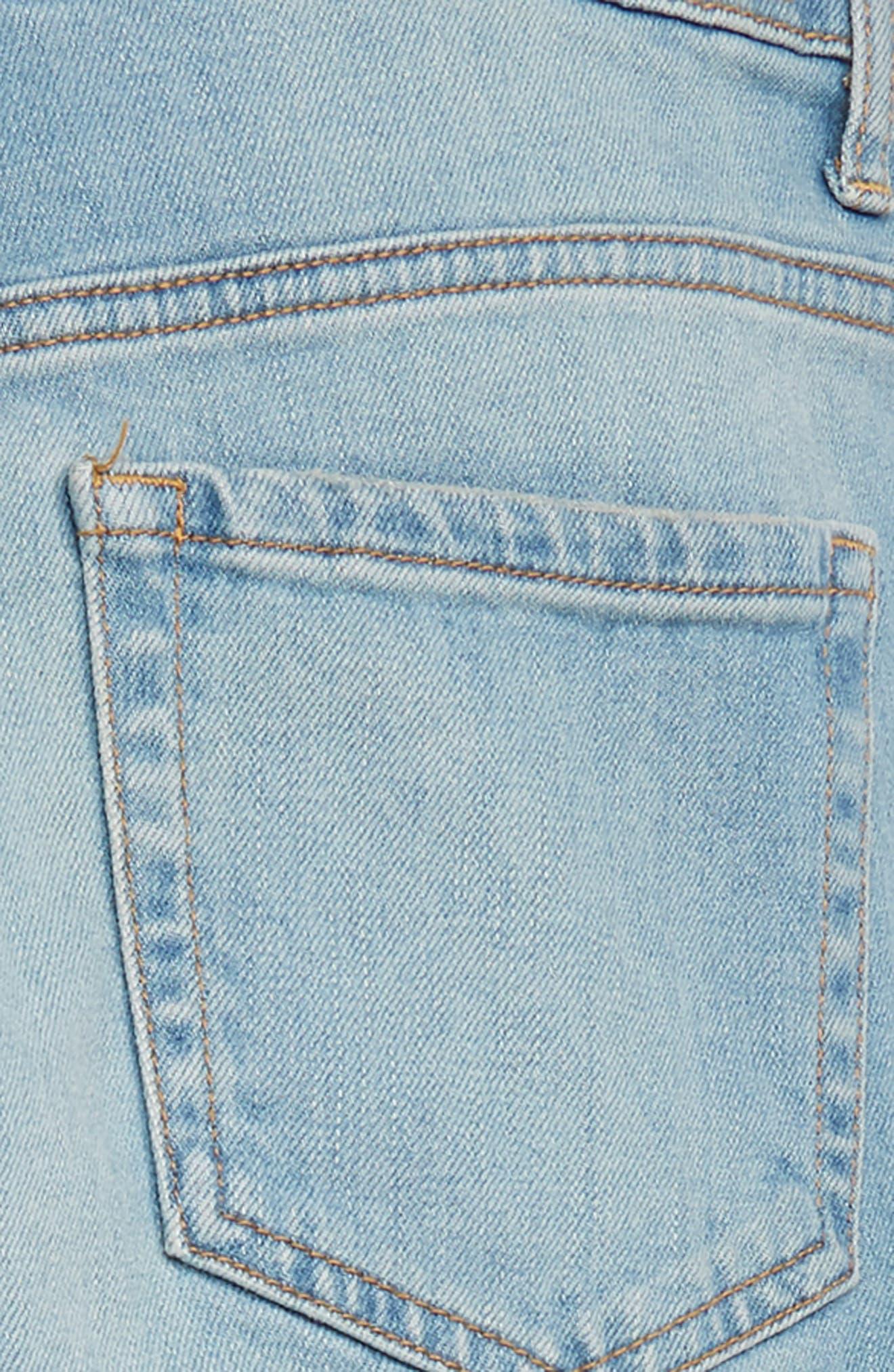 High Waist Mum Jeans,                             Alternate thumbnail 3, color,                             RAPIDS WASH