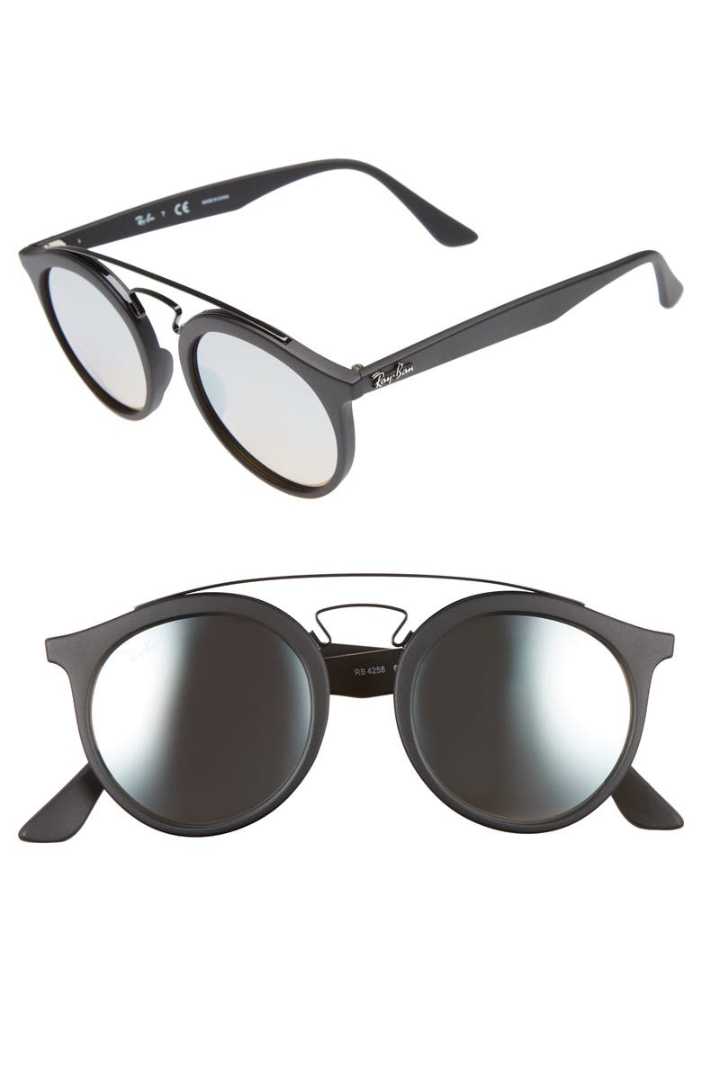 b906a39ccd Ray-Ban Highstreet 49mm Gatsby Round Sunglasses