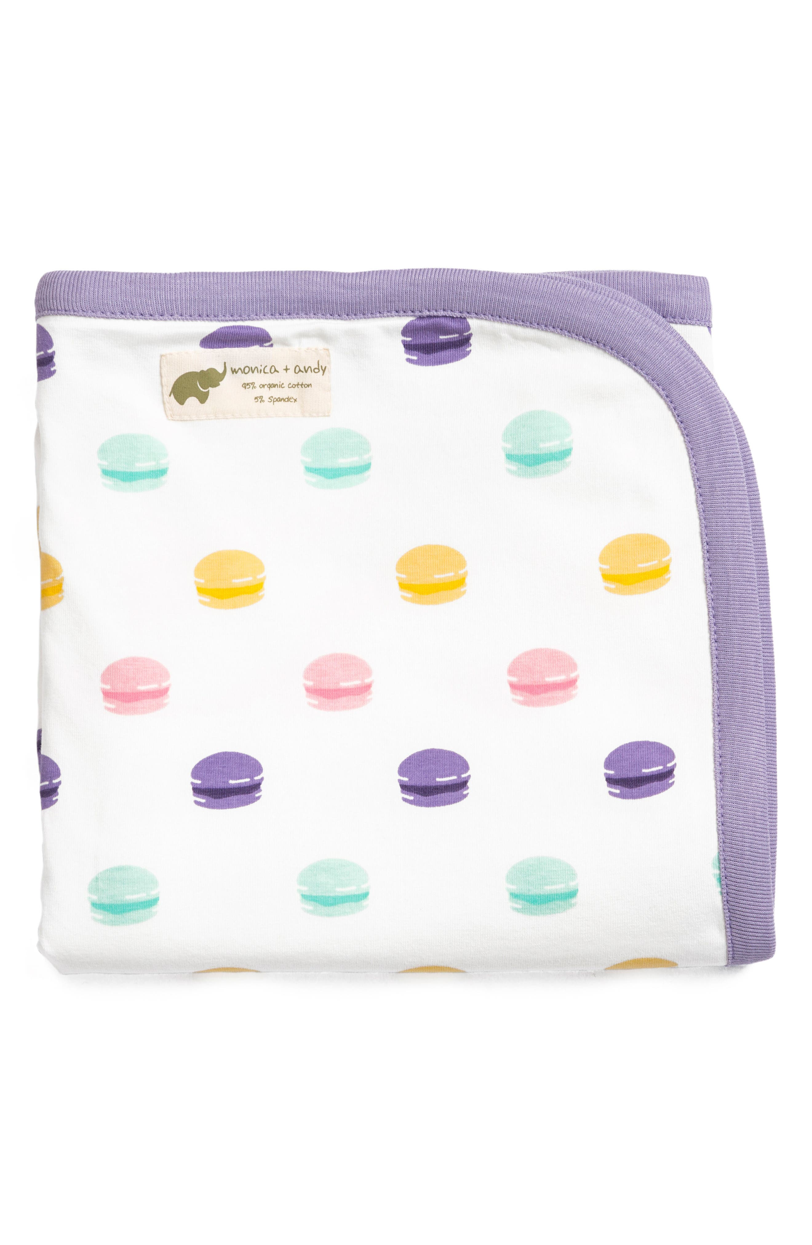 Le Macaron Coming Home Blanket,                         Main,                         color, 501
