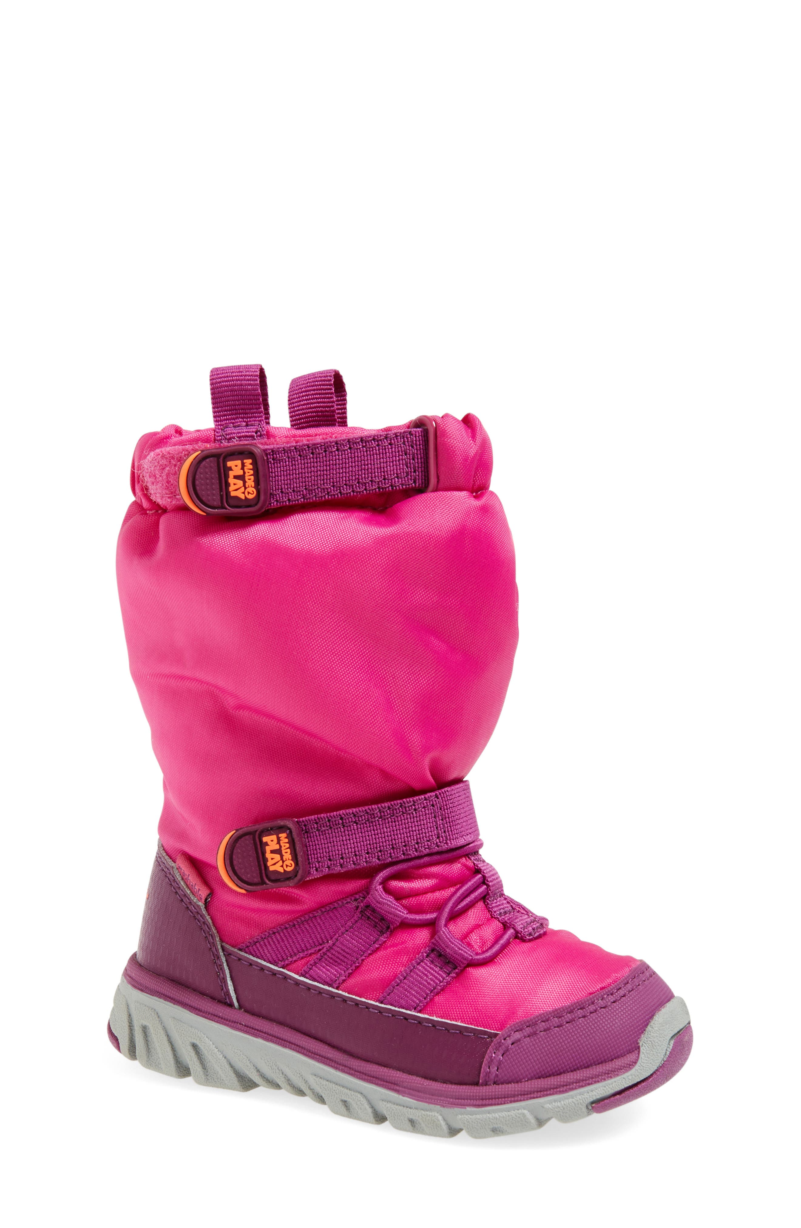'Made 2 Play' WaterResistantBoot,                             Alternate thumbnail 5, color,                             PINK