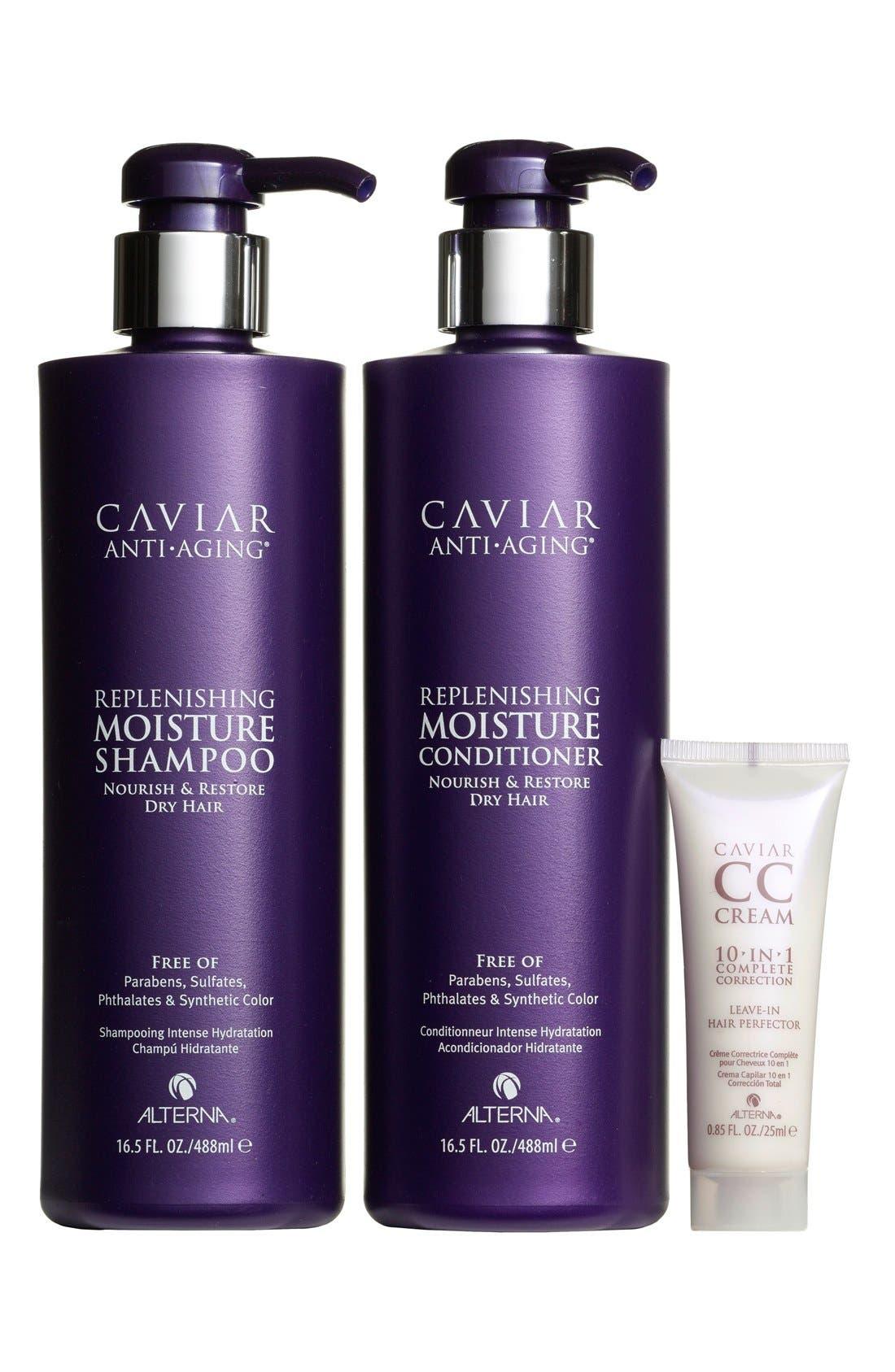 Caviar Set,                             Main thumbnail 1, color,                             000
