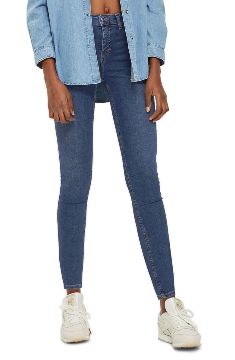 Moto Jamie Jeans,                         Main,                         color, RICH INDIGO