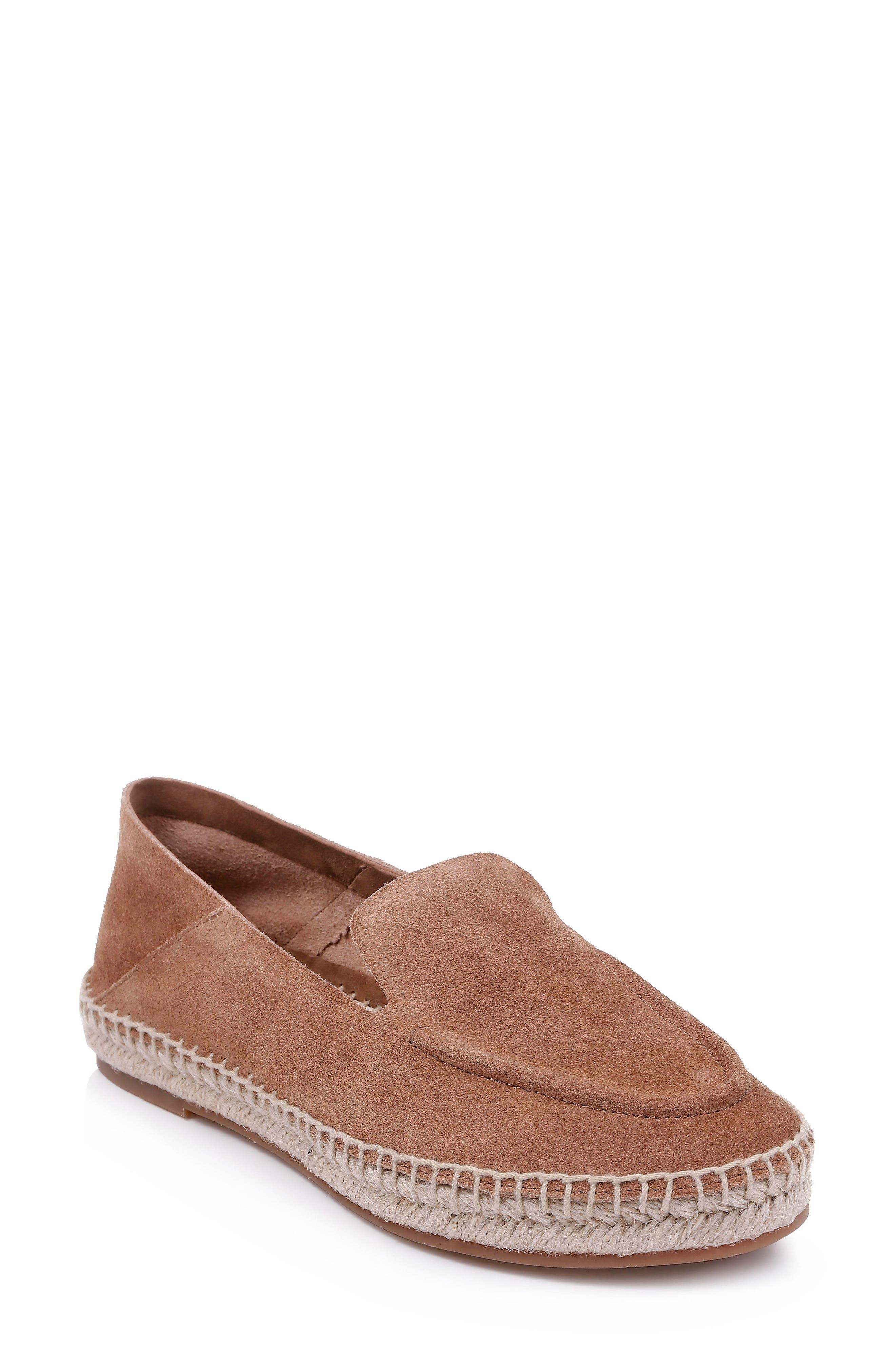 Simplicity Espadrille Loafer, Main, color, LATTE BROWN SUEDE