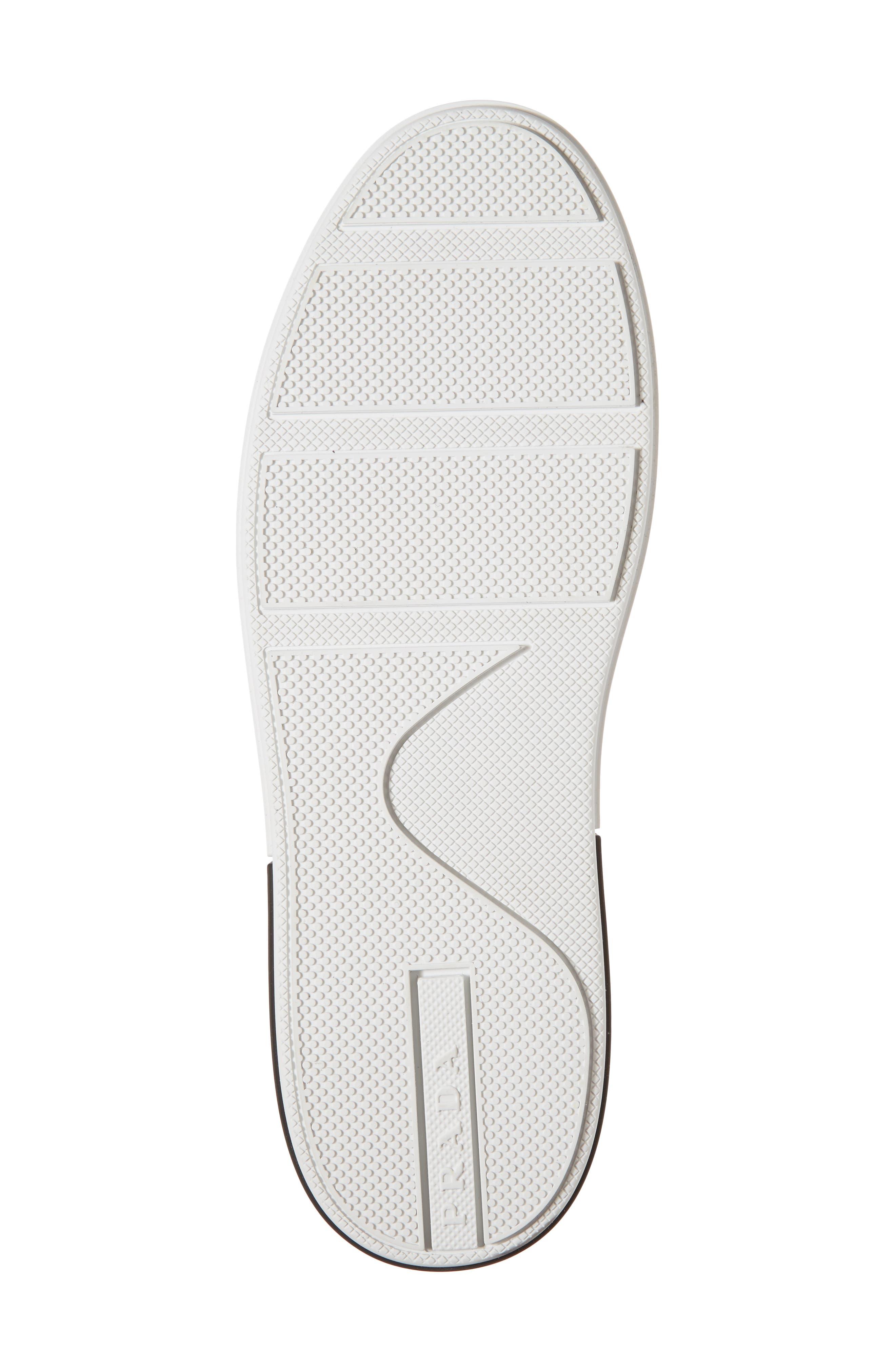 Logo Low Top Sneaker,                             Alternate thumbnail 6, color,                             BLACK/ WHITE