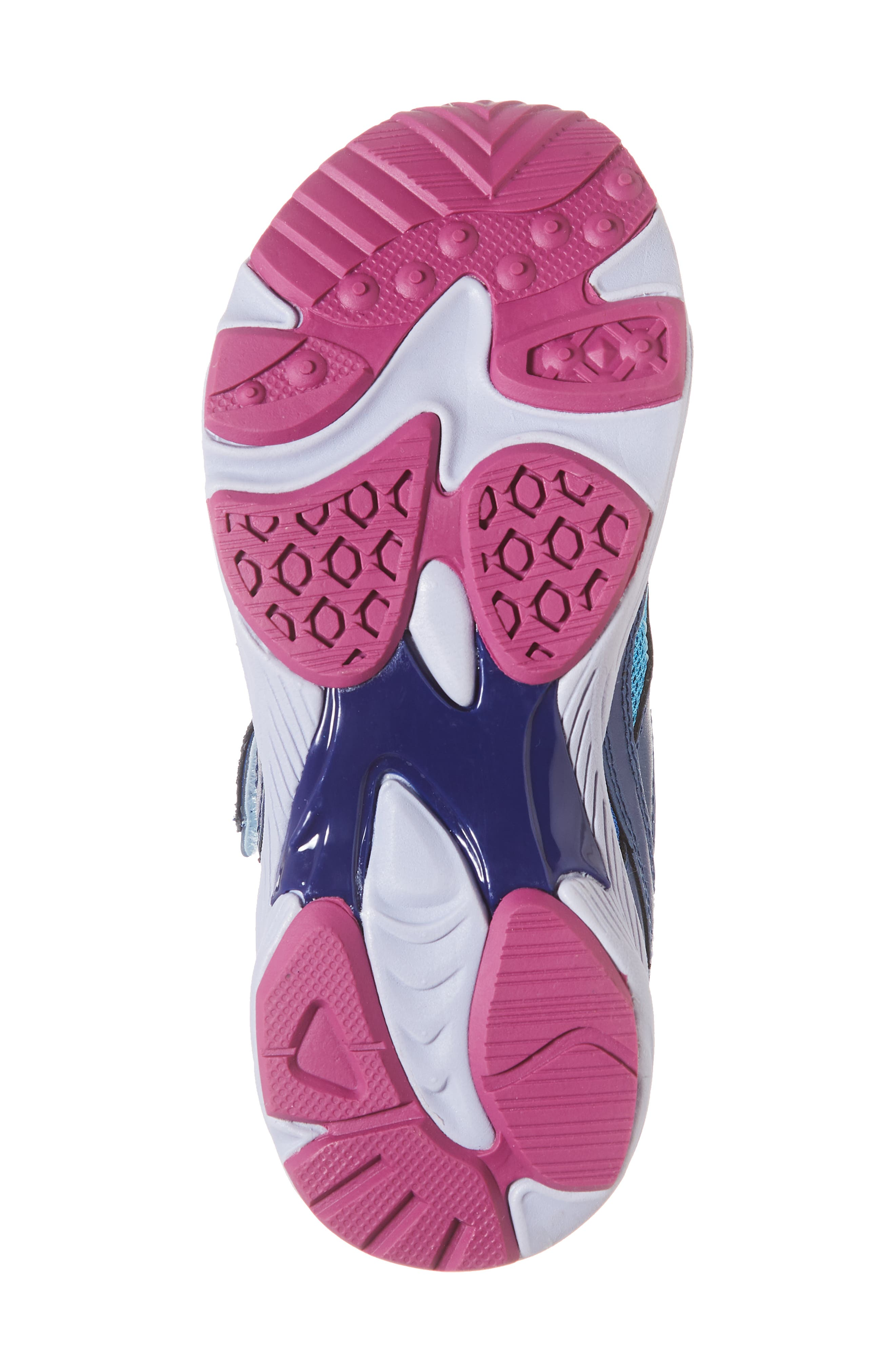 Glitz Washable Sneaker,                             Alternate thumbnail 6, color,                             NAVY/ BERRY