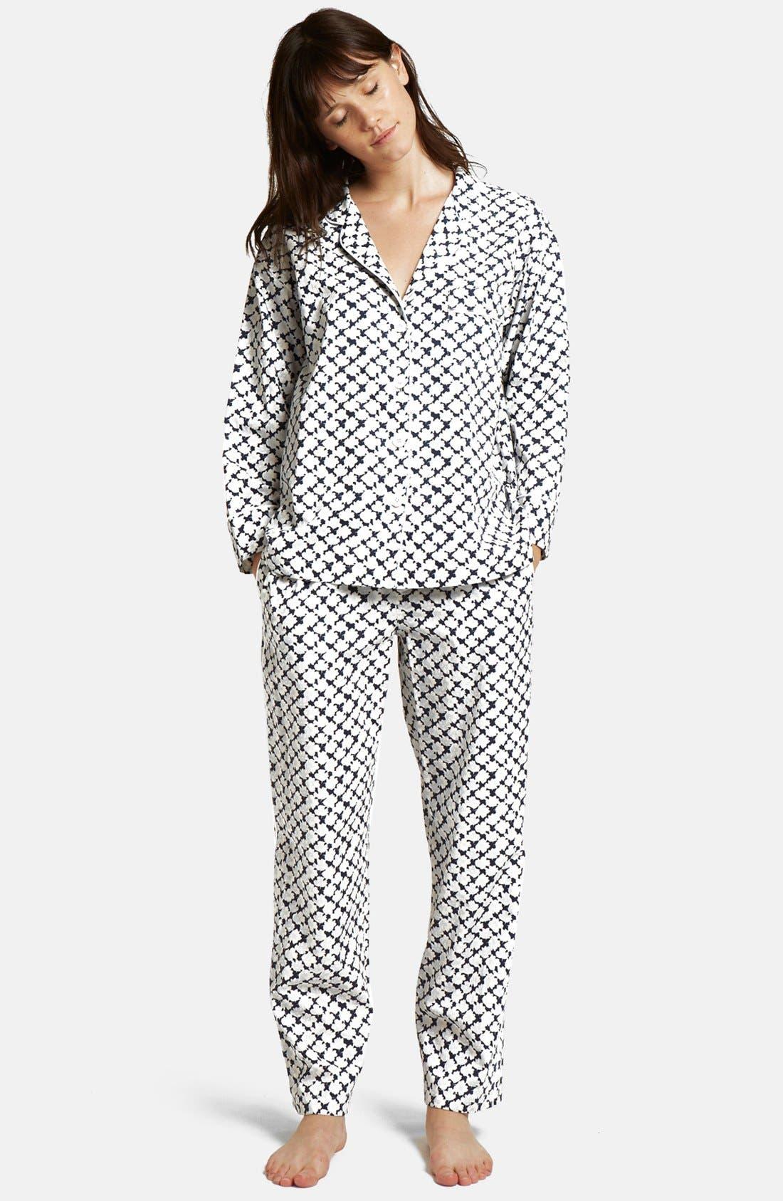 SLEEPY JONES,                             'Marina' Pajama Pants,                             Alternate thumbnail 2, color,                             415