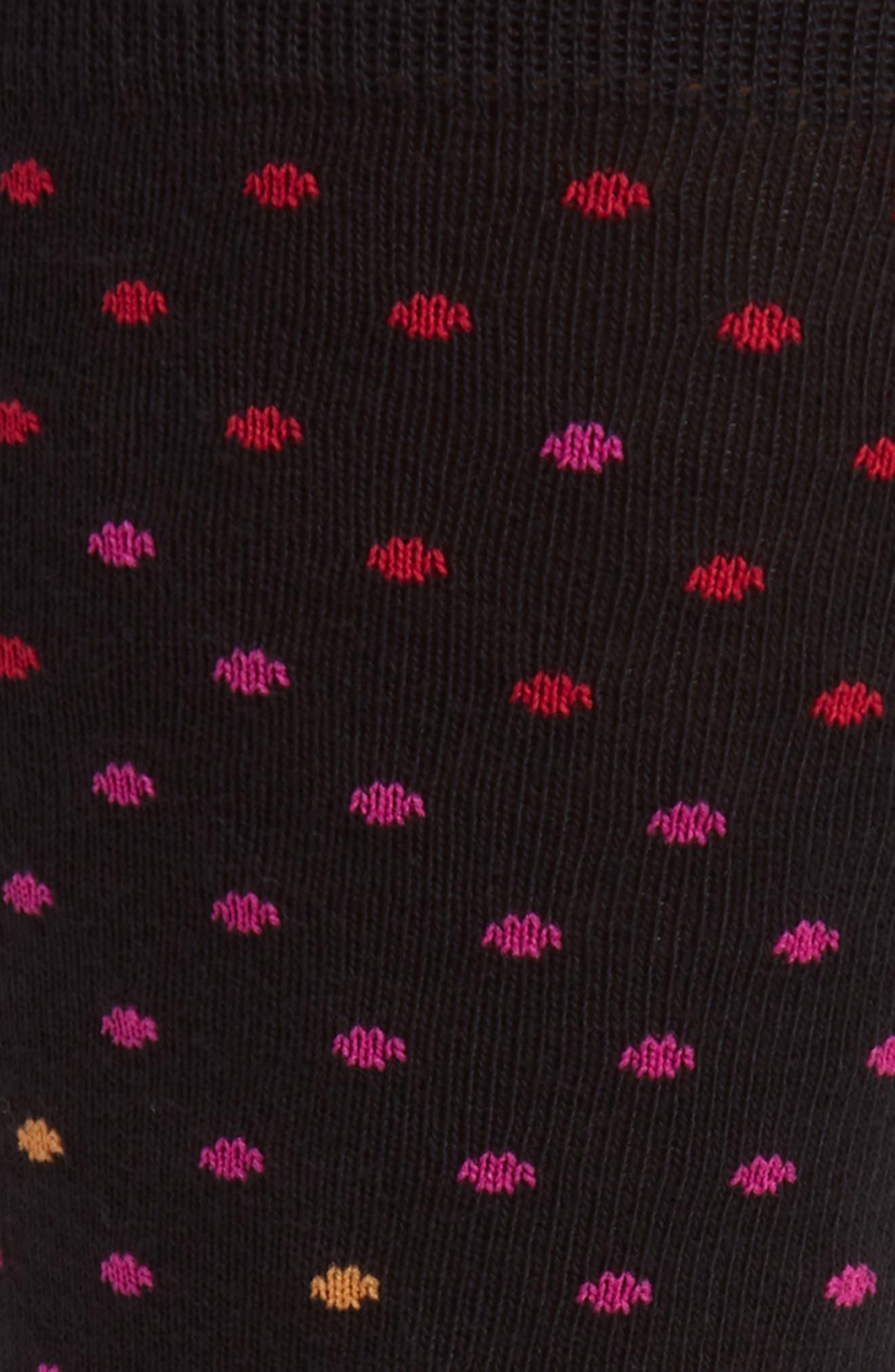 Gradient Dot Socks,                             Alternate thumbnail 3, color,