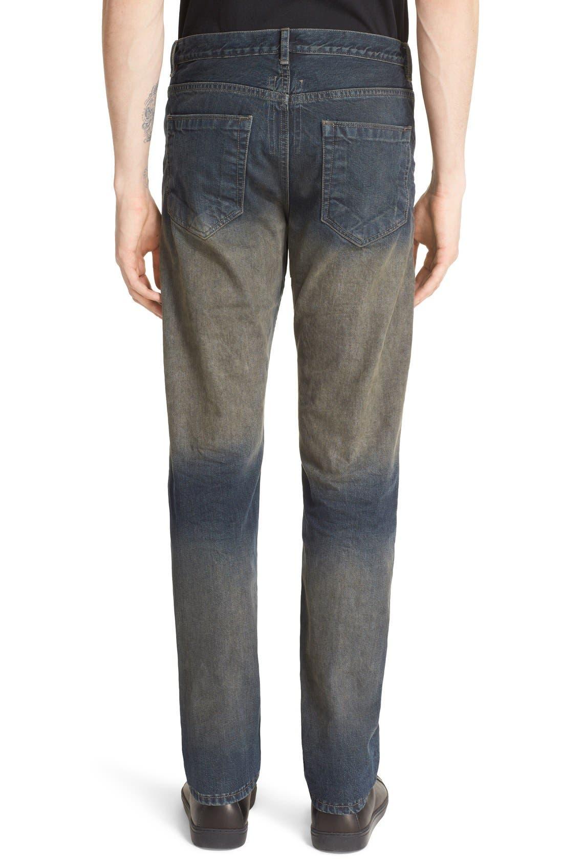 'Hustler' Berlin Fit Straight Leg Jeans,                             Alternate thumbnail 2, color,                             400