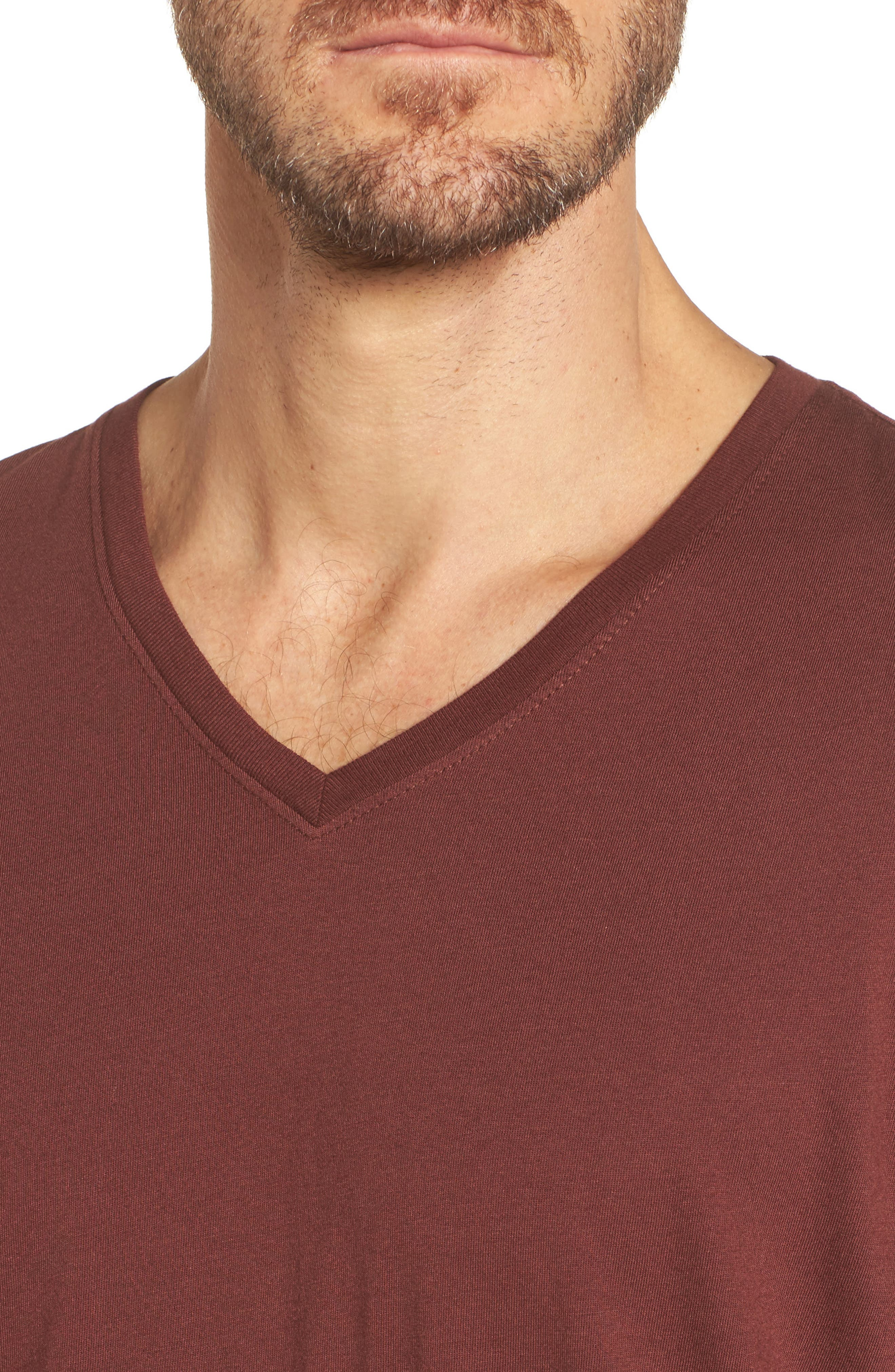 Bryce V-Neck T-Shirt,                             Alternate thumbnail 8, color,