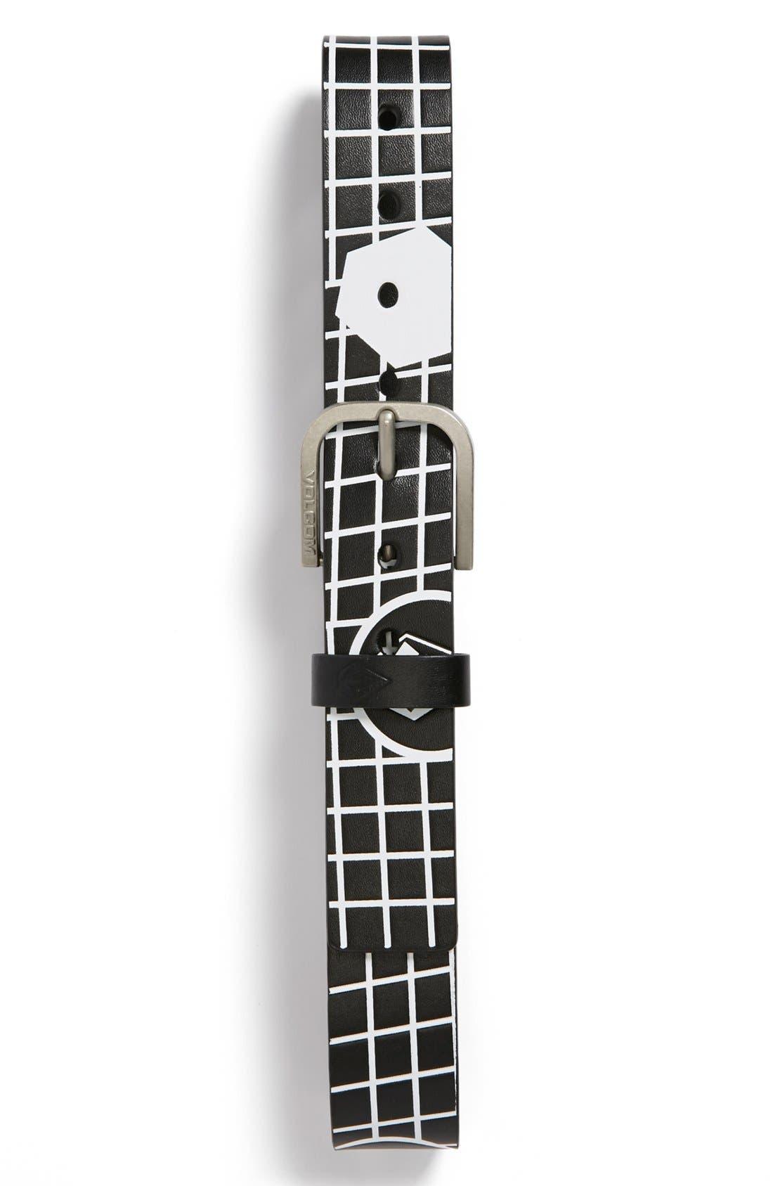 'Reform' Printed Belt,                             Main thumbnail 1, color,
