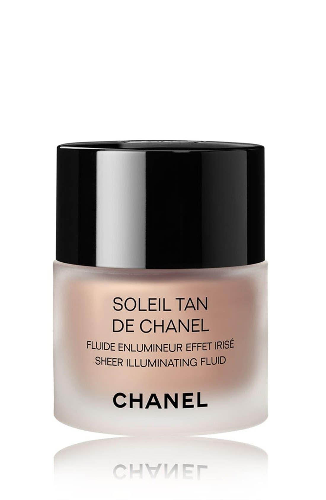 SOLEIL TAN DE CHANEL<br />Sheer Illuminating Fluid,                         Main,                         color, SUNKISSED