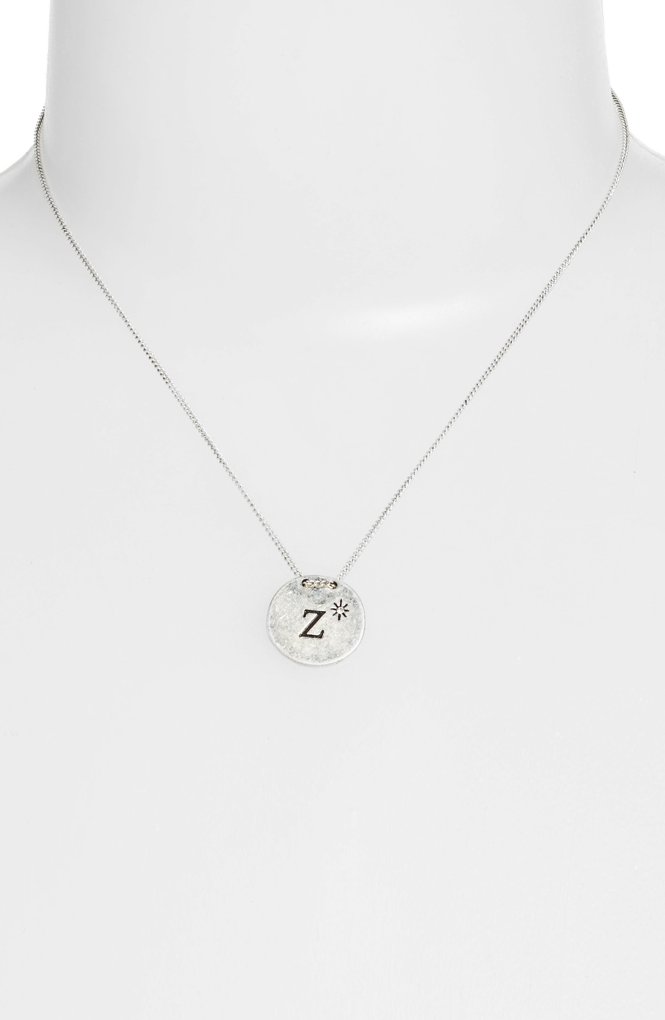 Initial Collar Necklace,                             Alternate thumbnail 65, color,