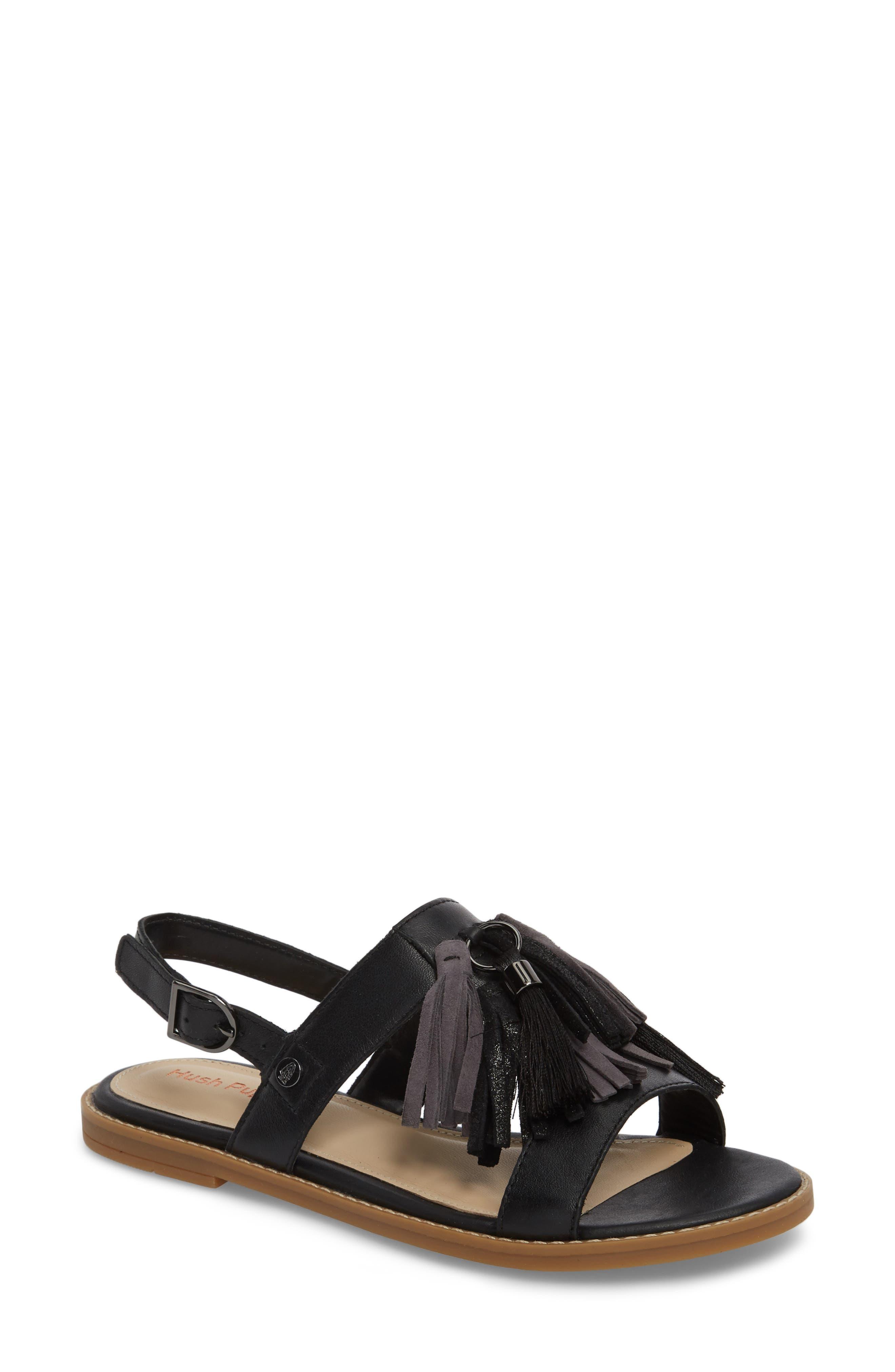 Chrissie Tassel Sandal,                         Main,                         color, 007