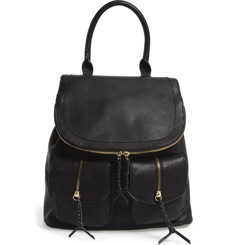 99422e0232 Sole Society Emery Faux Leather Backpack