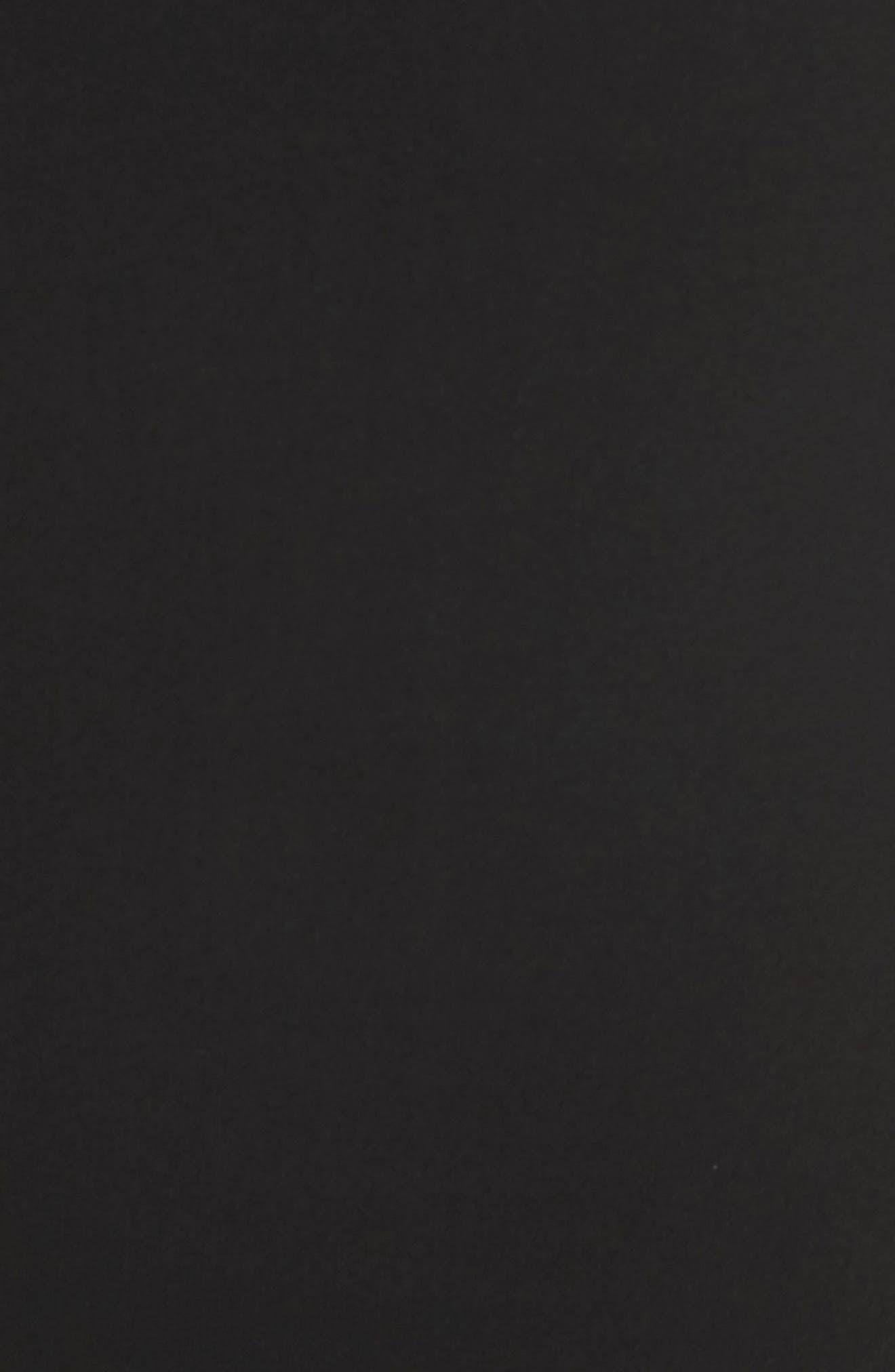 Sarong Midi Skirt,                             Alternate thumbnail 5, color,                             001