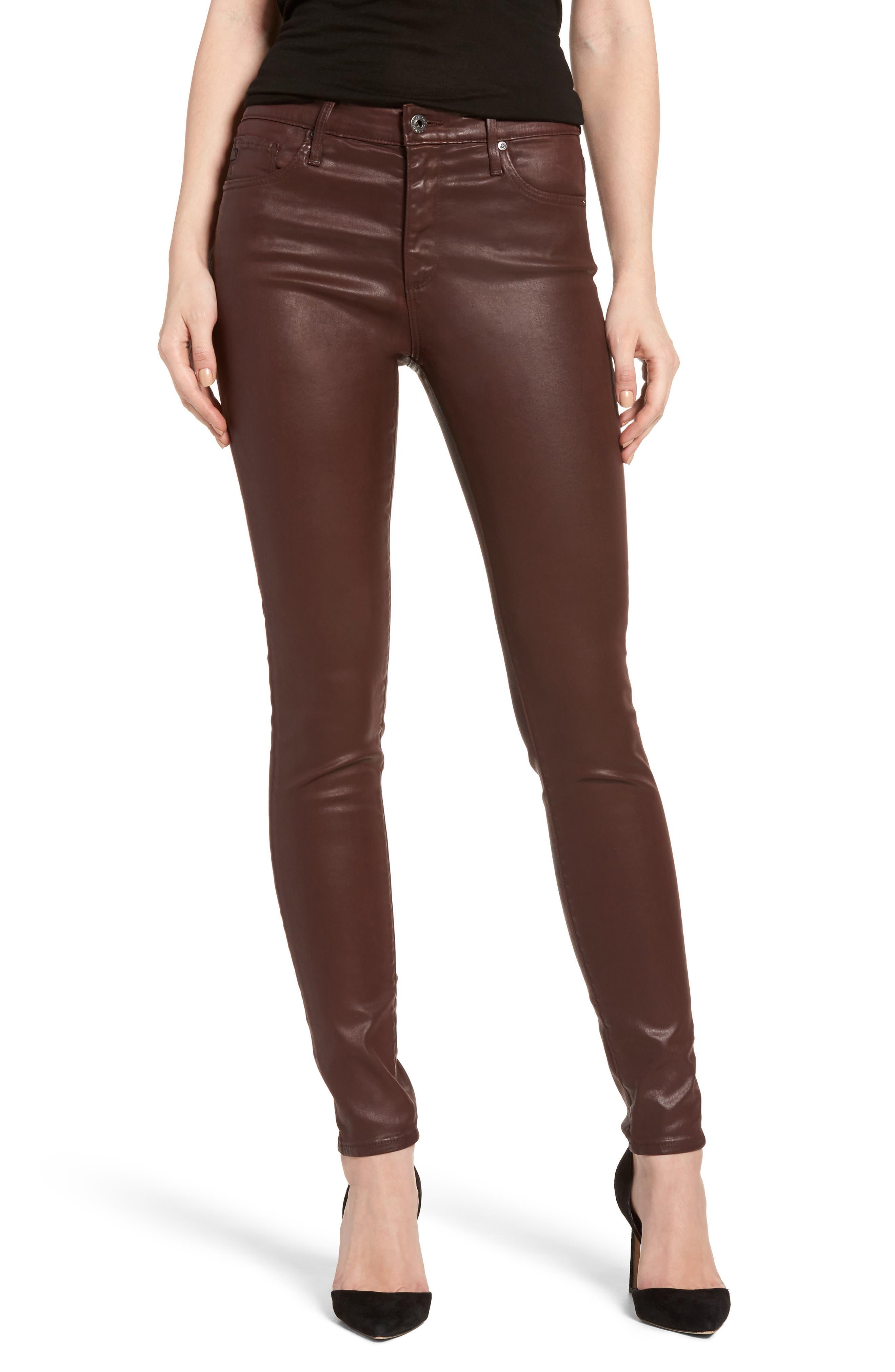 The Farrah High Rise Skinny Jeans,                             Main thumbnail 3, color,