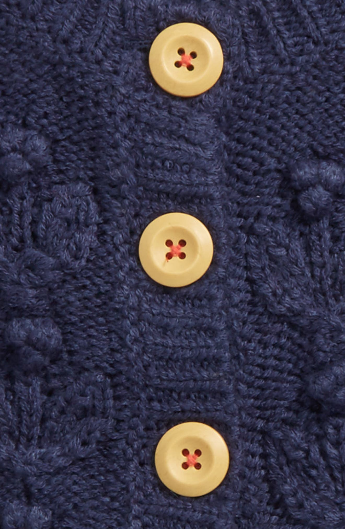 Cable Knit Cardigan,                             Alternate thumbnail 2, color,                             414