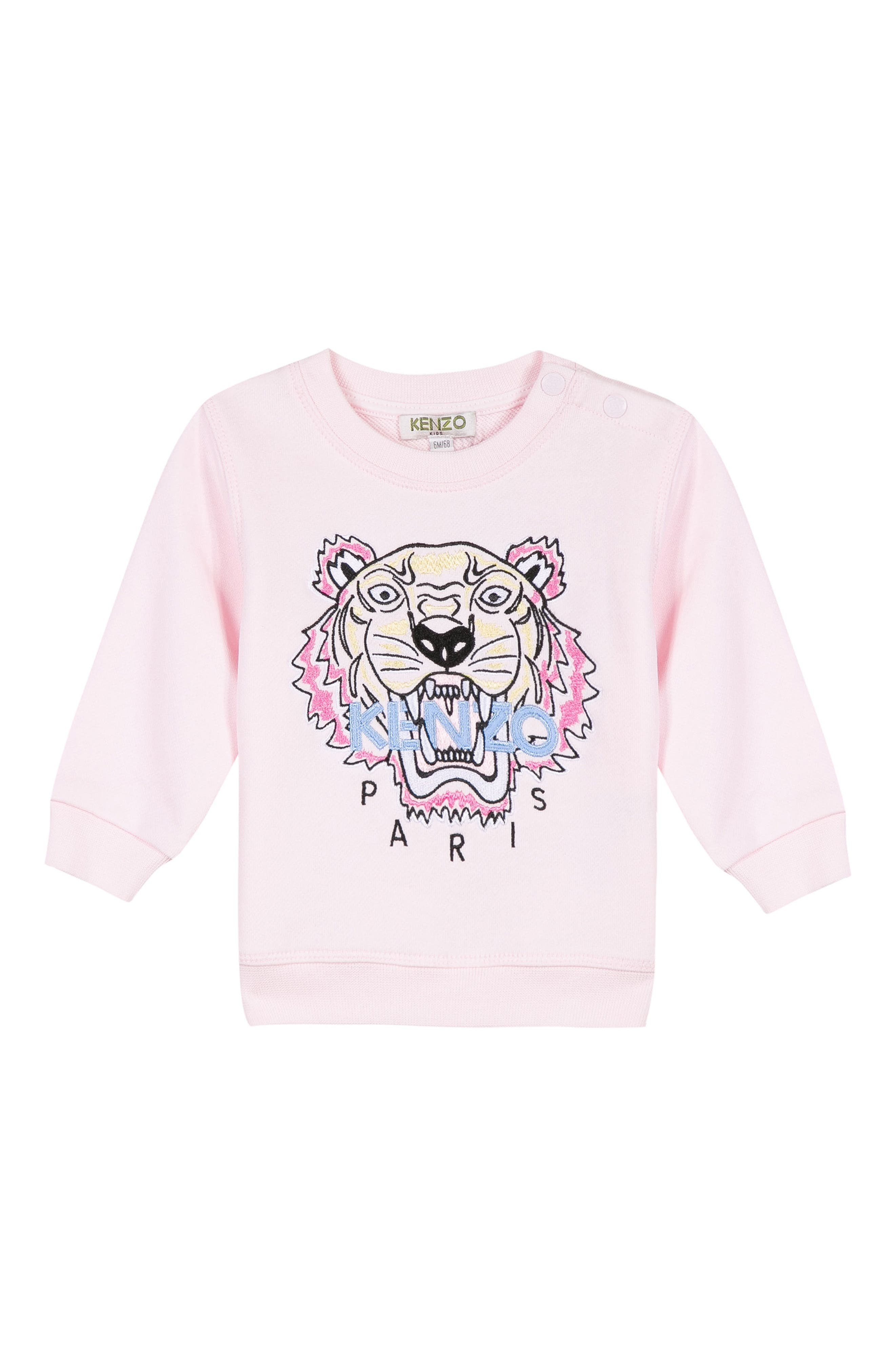 Embroidered Tiger Logo Sweatshirt,                             Main thumbnail 1, color,                             684