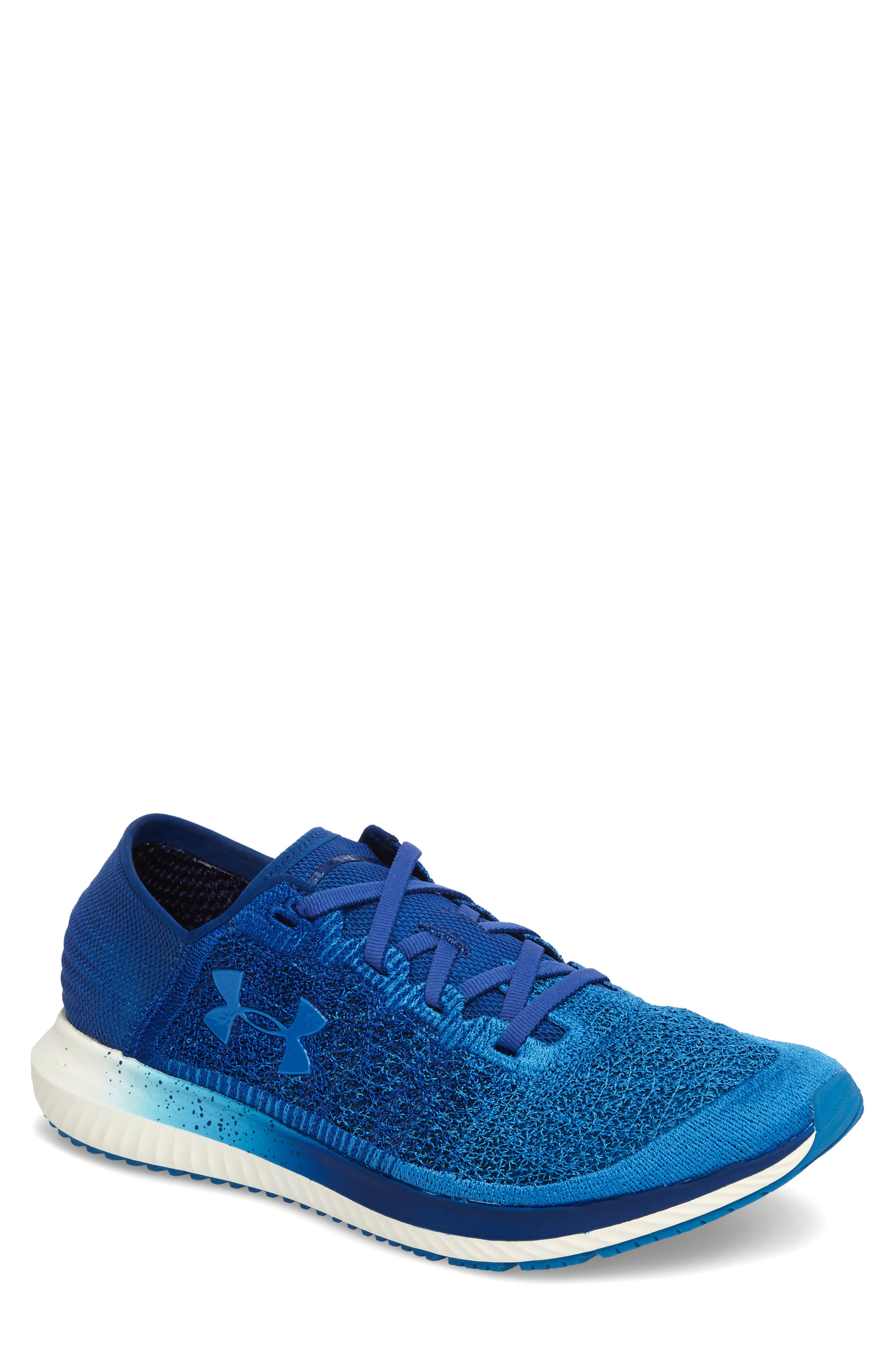 Threadborne Blur Running Shoe,                             Main thumbnail 1, color,                             BLUE / STUDIO