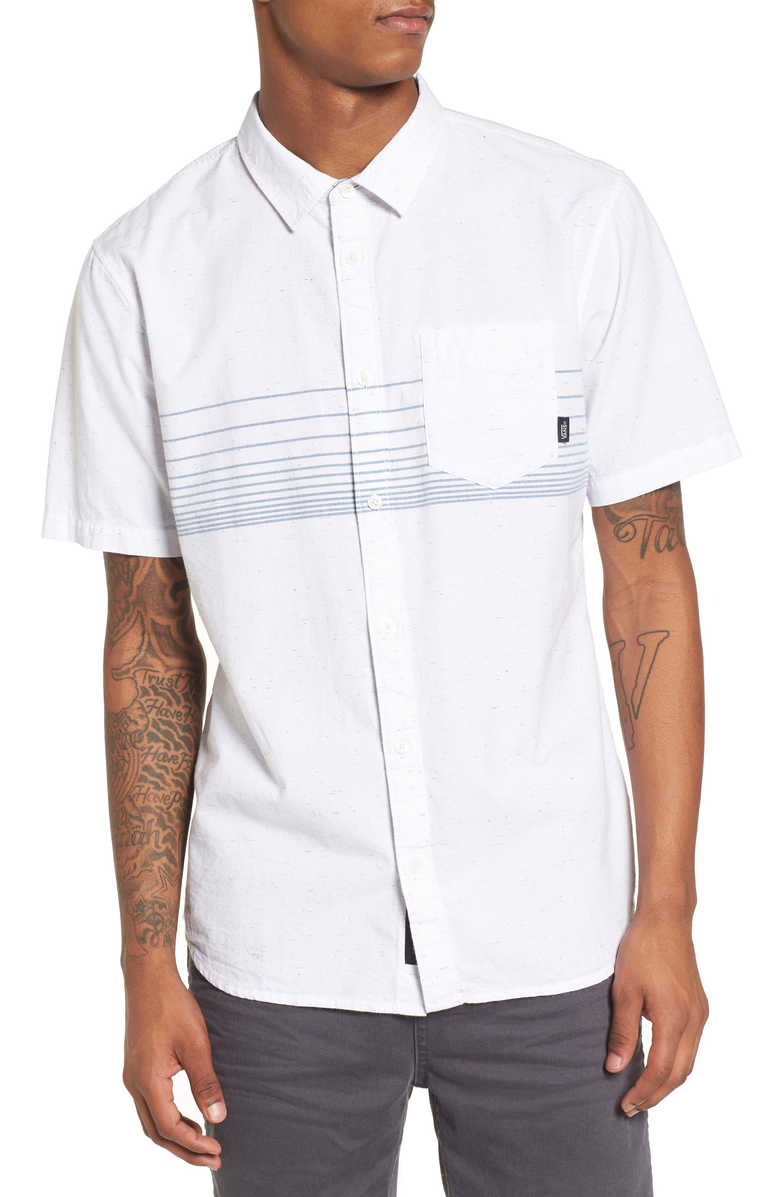 Gillis Woven Shirt,                         Main,                         color, 100