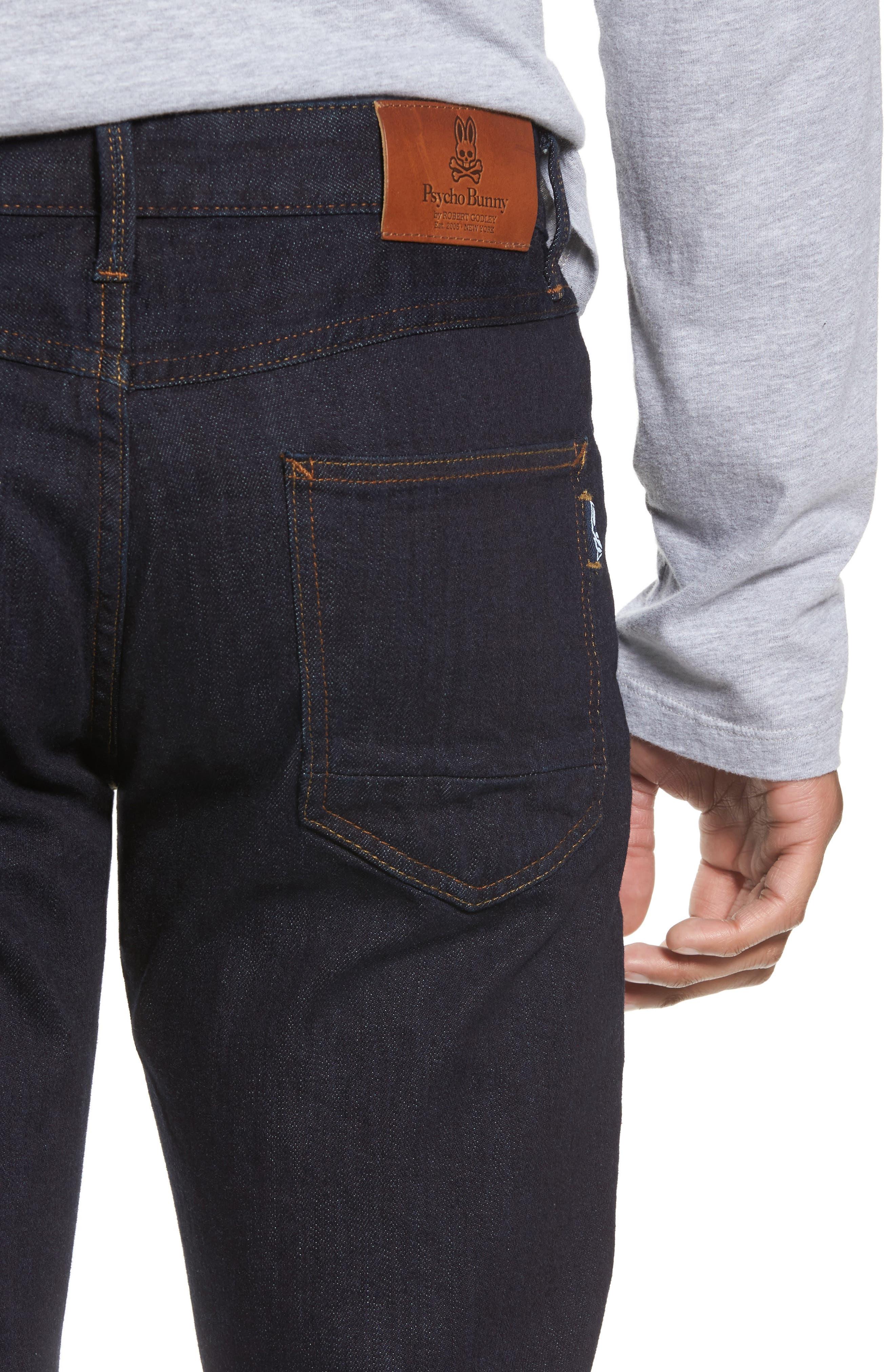Canal Slim Fit Jeans,                             Alternate thumbnail 4, color,                             460