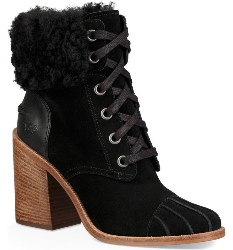 UGG® Jaxon Cuff Bootie (Women) | Nordstrom