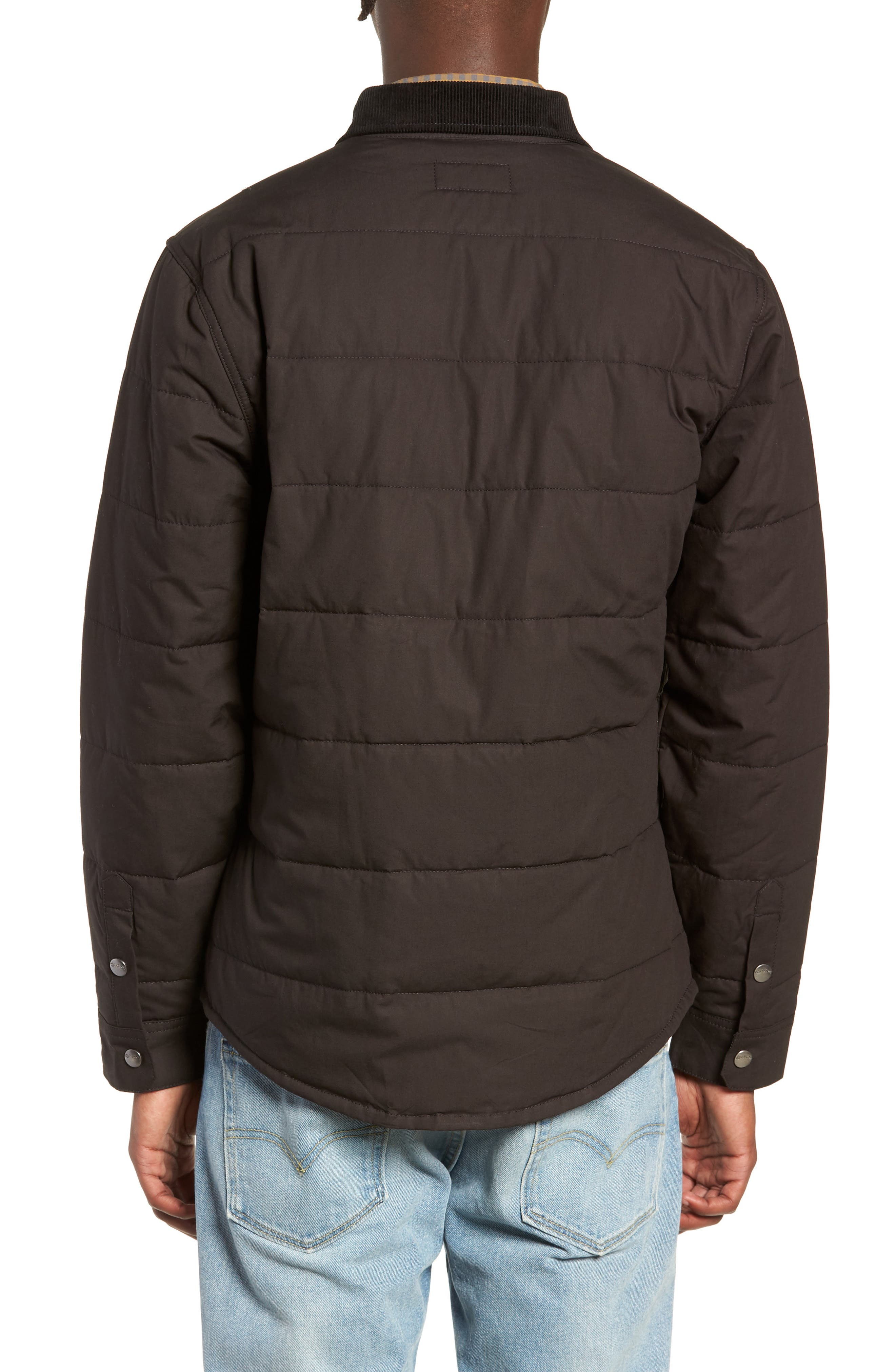 'Cass' Quilted Jacket,                             Alternate thumbnail 2, color,                             008