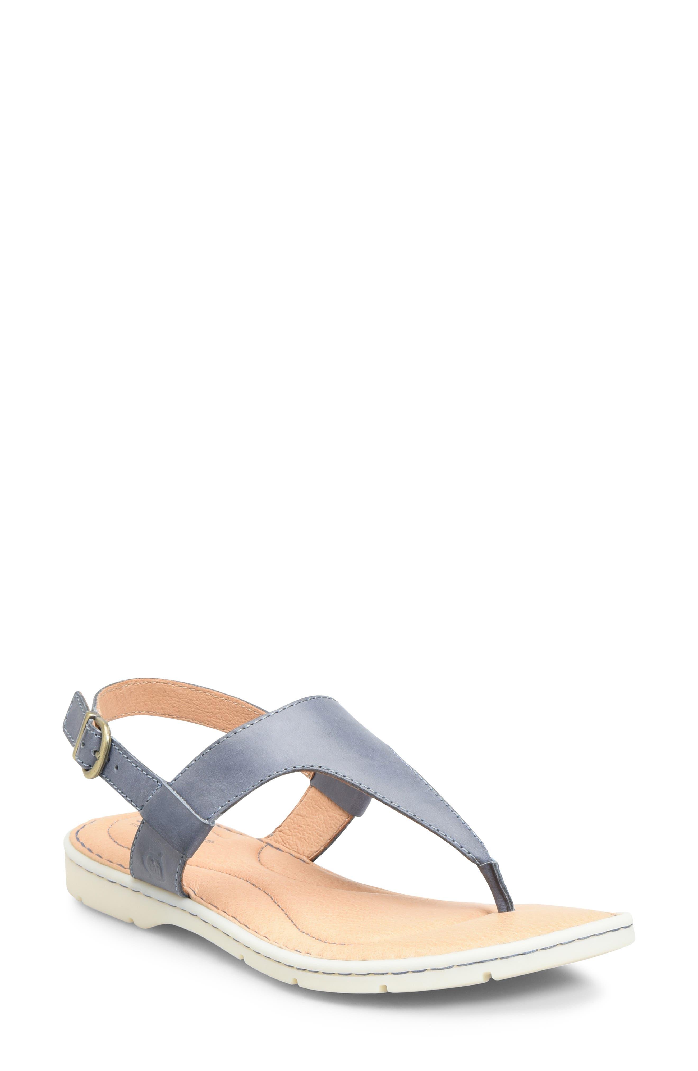 B?rn Taylor V-Strap Sandal, Blue