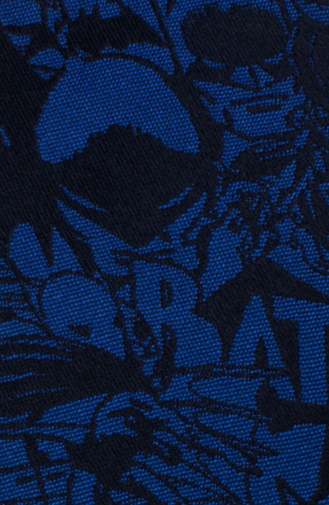 'Batman' Silk Tie,                             Alternate thumbnail 2, color,                             BLUE