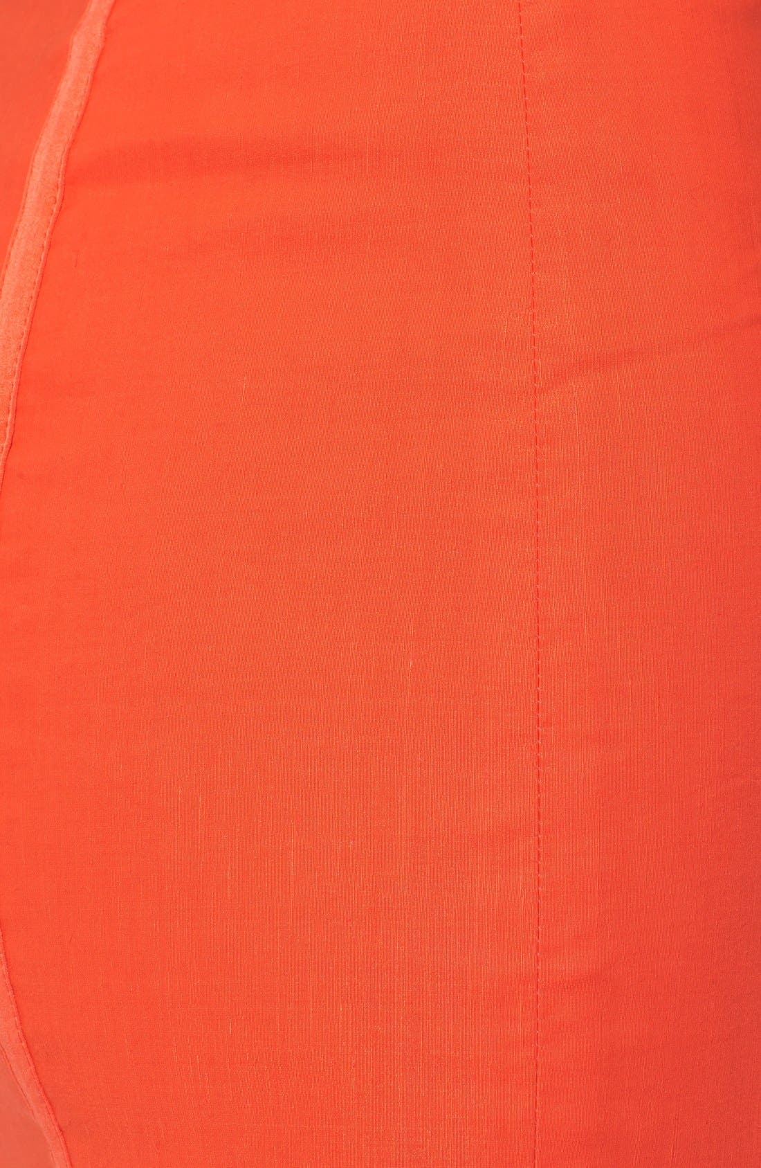 'Maui' Strapless Bustier Dress,                             Alternate thumbnail 3, color,                             606