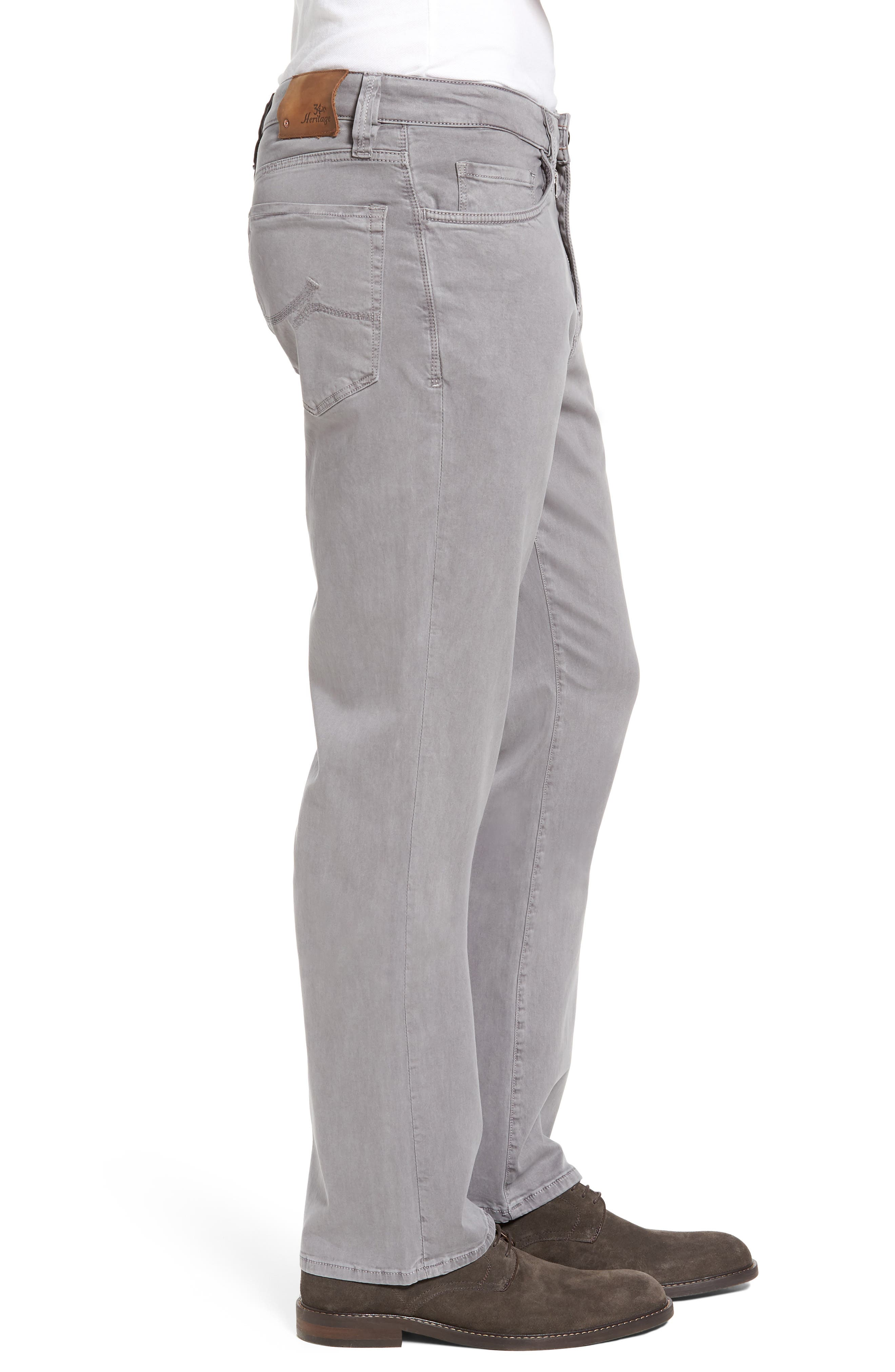 Charisma Relaxed Fit Twill Pants,                             Alternate thumbnail 3, color,                             SHARK TWILL