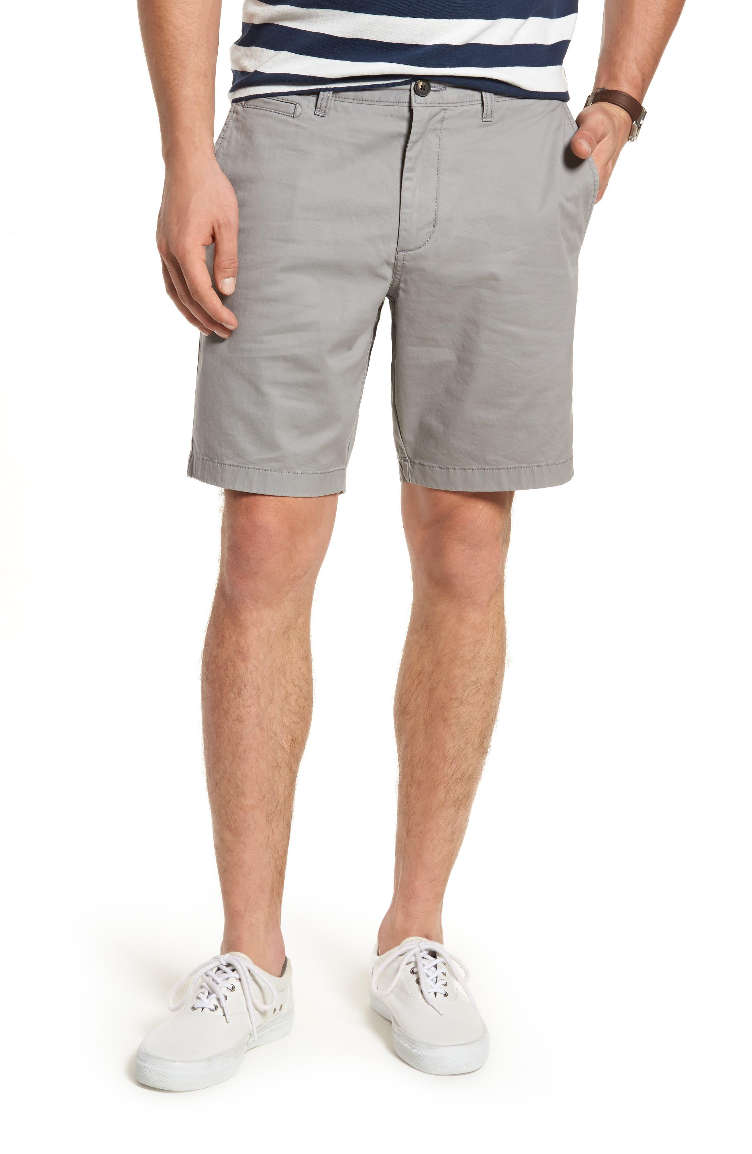 Ballard Slim Fit Stretch Chino 9-Inch Shorts,                             Main thumbnail 1, color,                             030