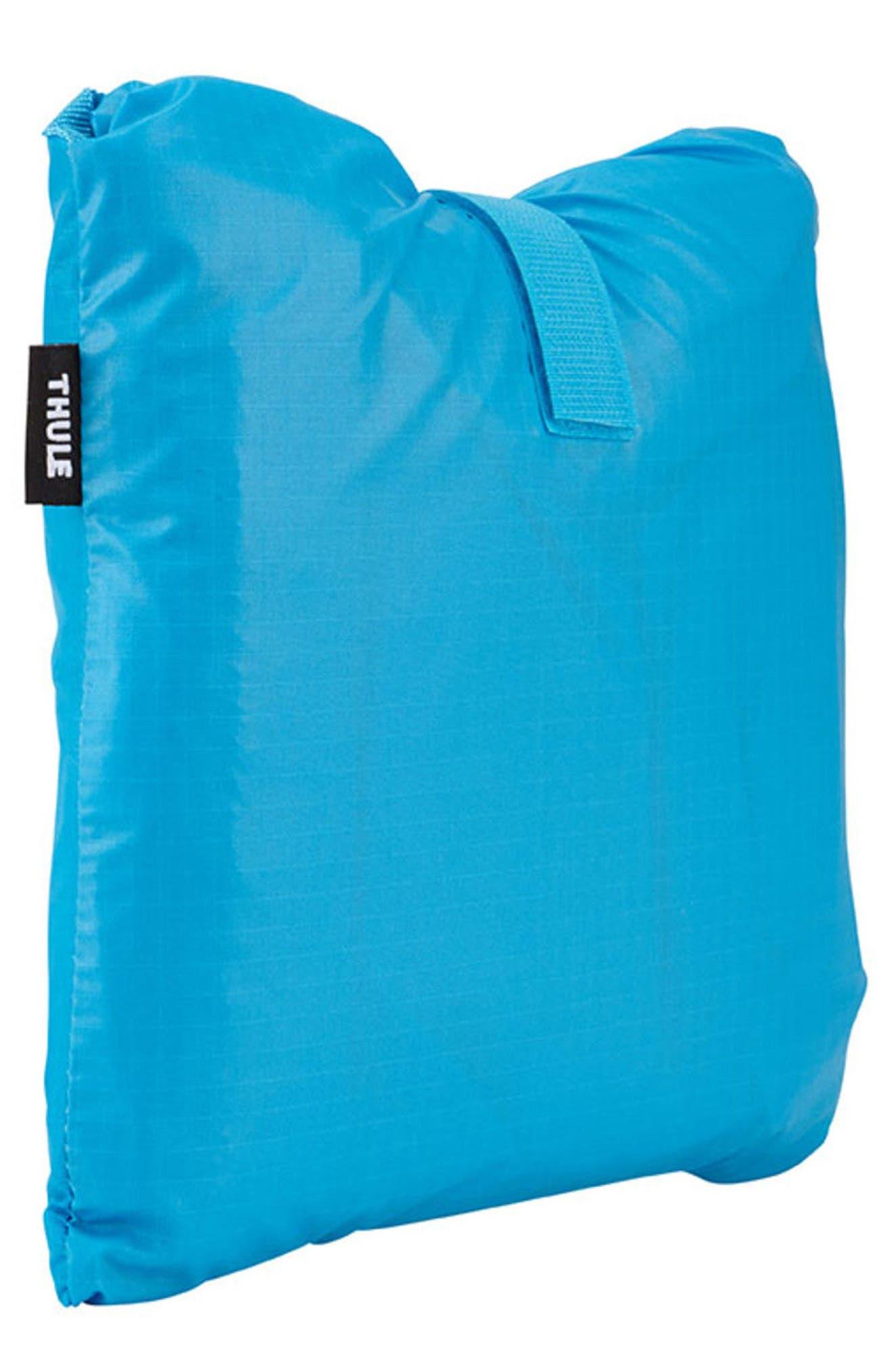 Sapling Child Carrier Rain Cover,                         Main,                         color, THULE BLUE