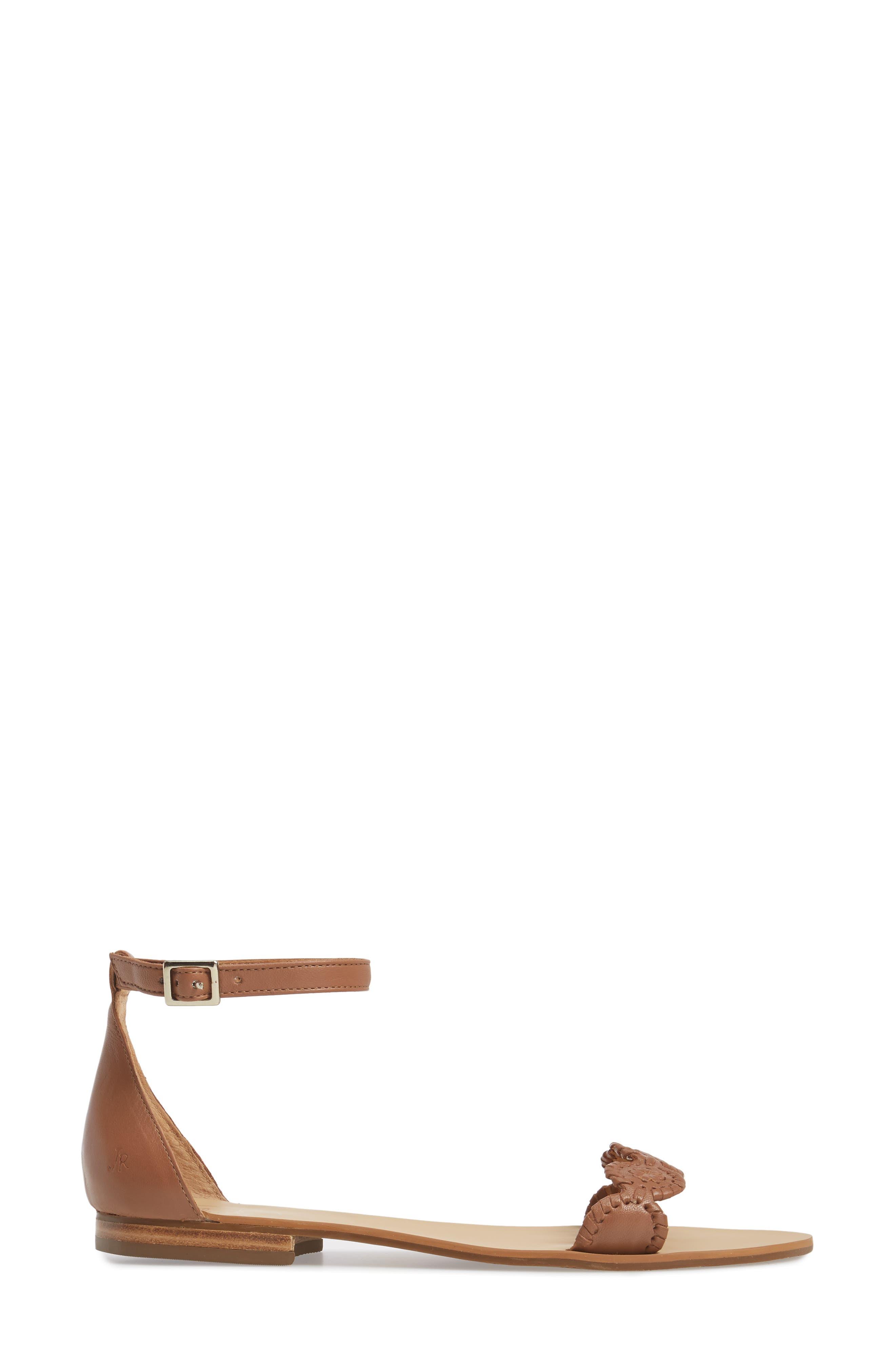 Daphne Medallion Flat Sandal,                             Alternate thumbnail 10, color,