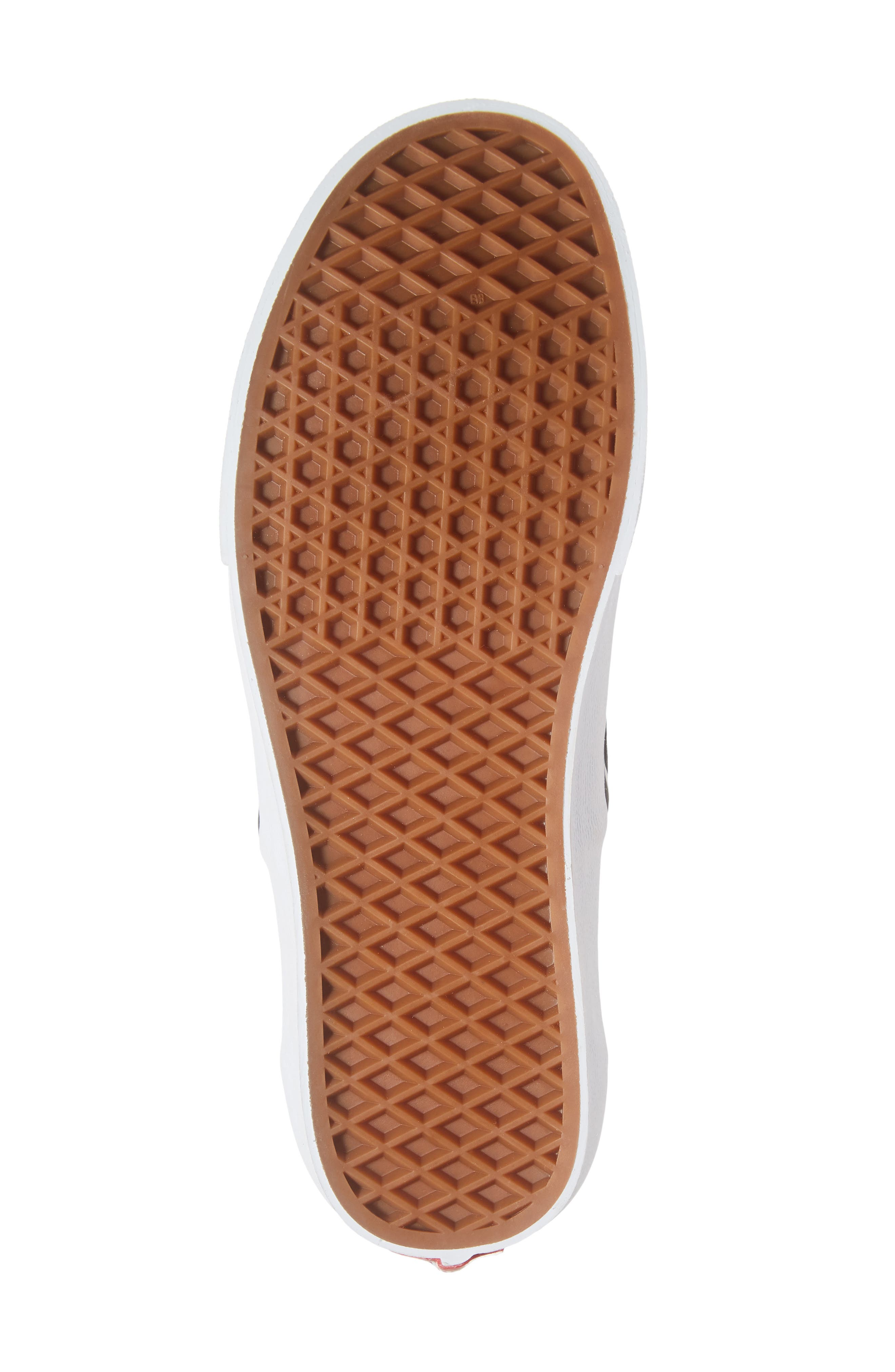 'Classic' Slip-On Sneaker,                             Alternate thumbnail 6, color,                             CHILI PEPPER/ ROMANTIC FLORAL