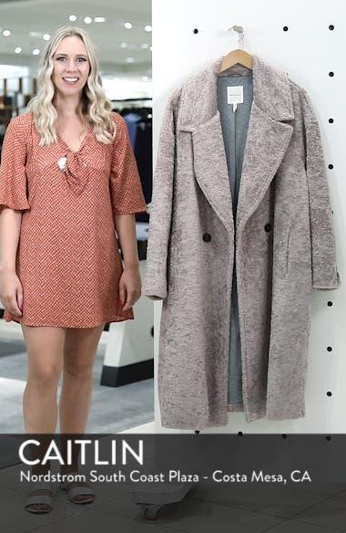 Faux Fur Cocoon Coat, sales video thumbnail
