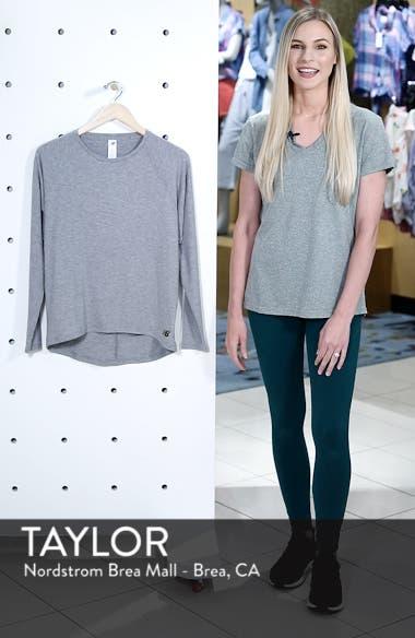 Release Open Back Long Sleeve Sweatshirt, sales video thumbnail
