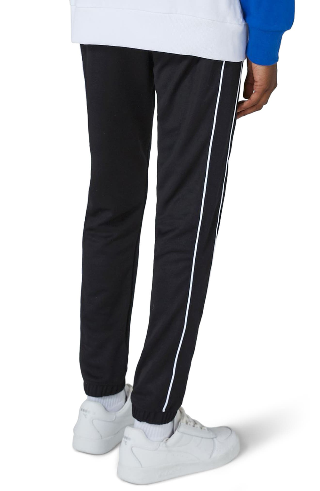 Piped Jogger Pants,                             Alternate thumbnail 2, color,                             001