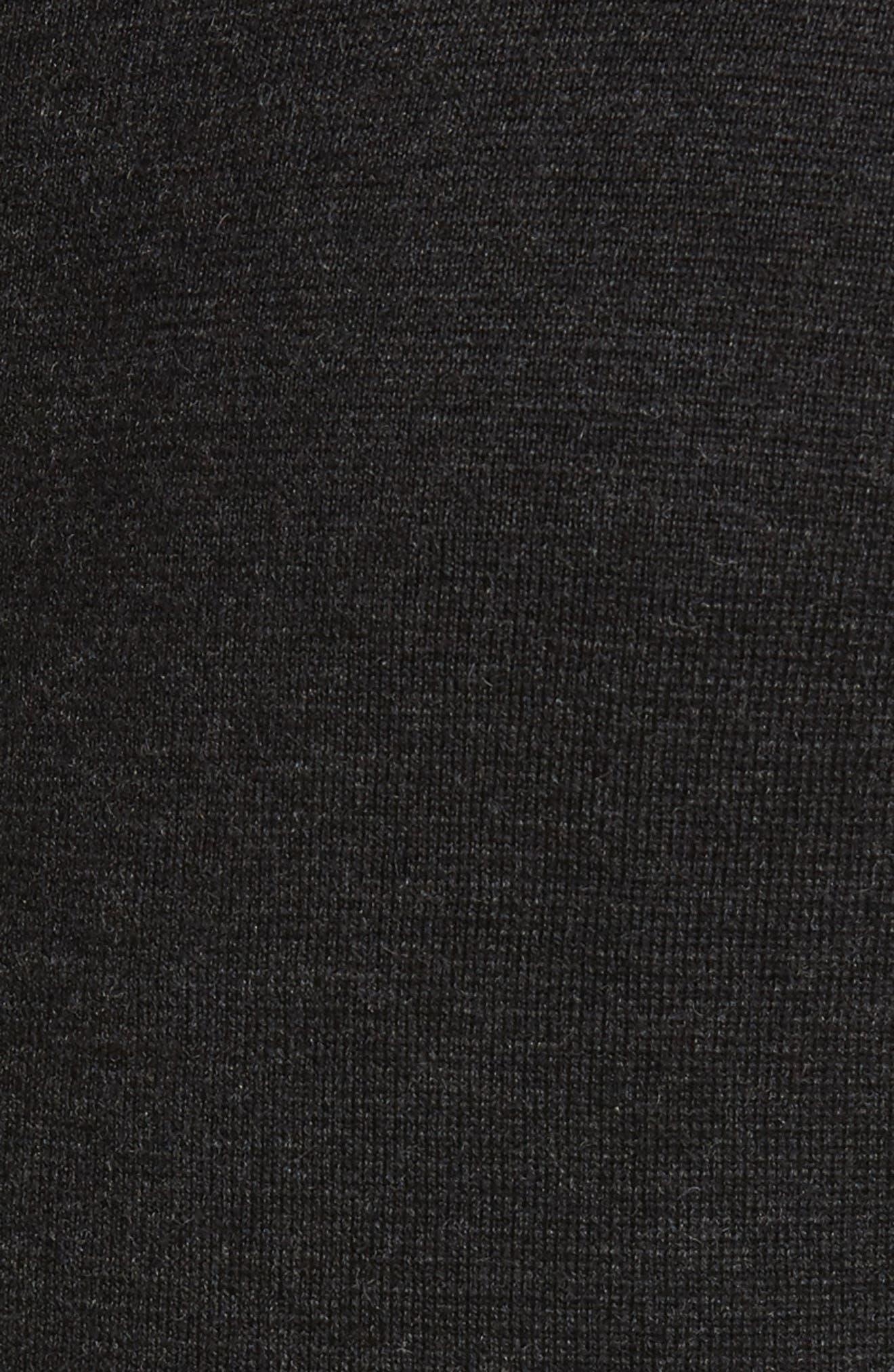 Carmichael Full Zip Merino Wool Hoodie,                             Alternate thumbnail 5, color,                             041
