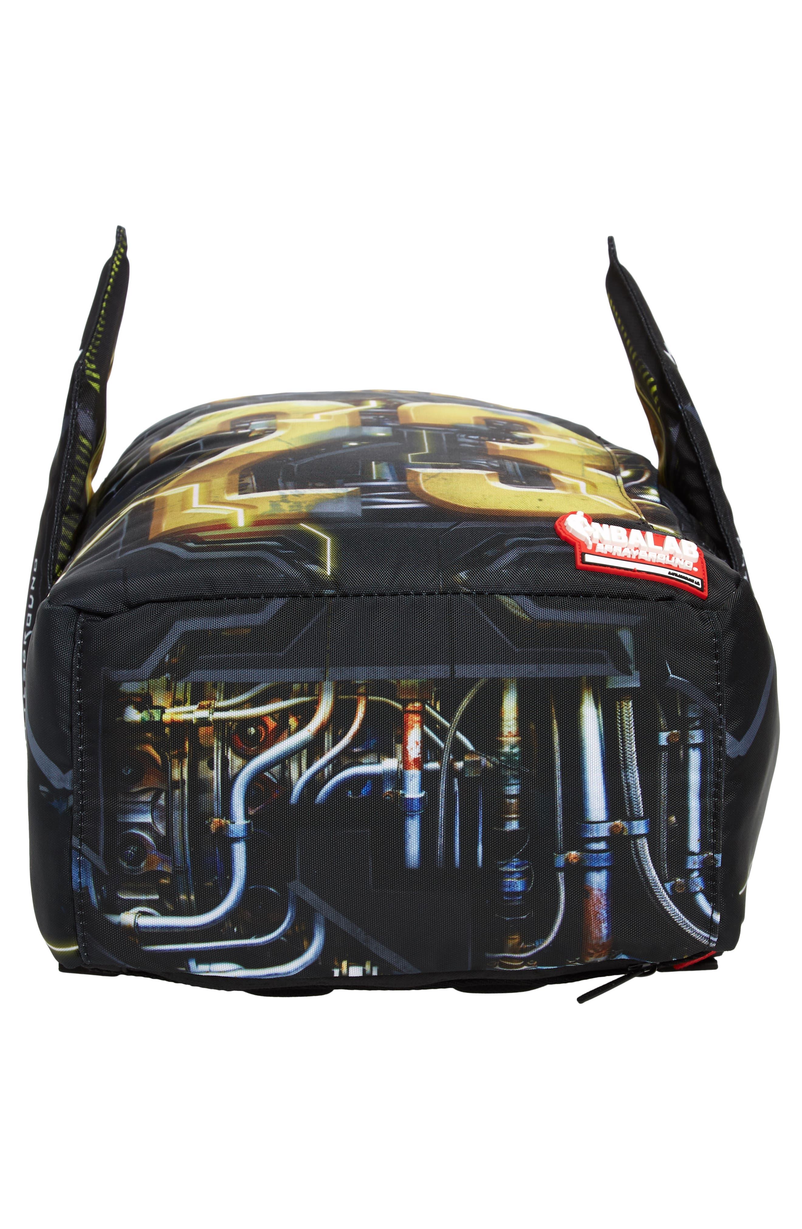 James Elysium Backpack,                             Alternate thumbnail 6, color,                             BLACK