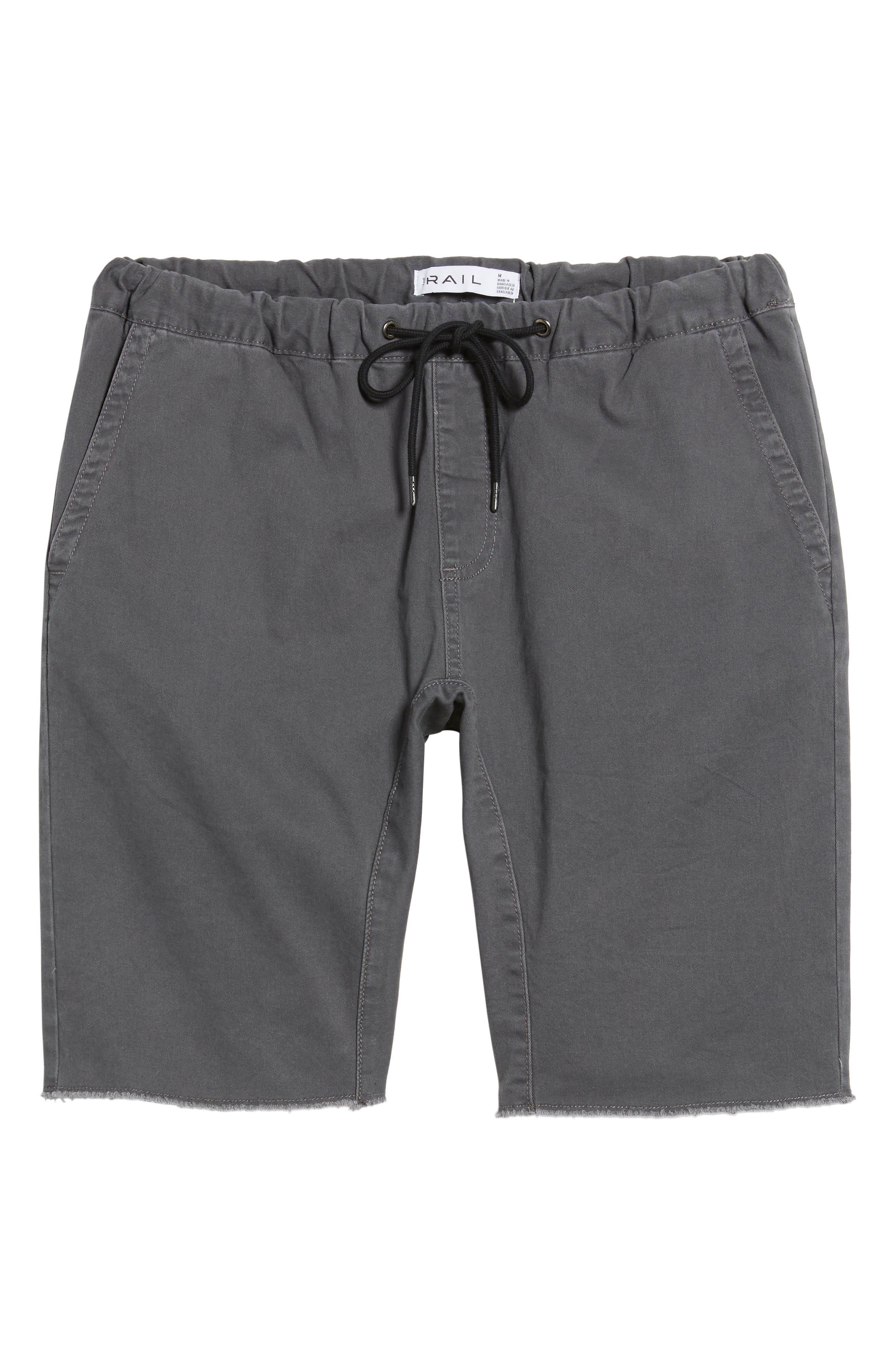 Jogger Shorts,                             Alternate thumbnail 6, color,                             022