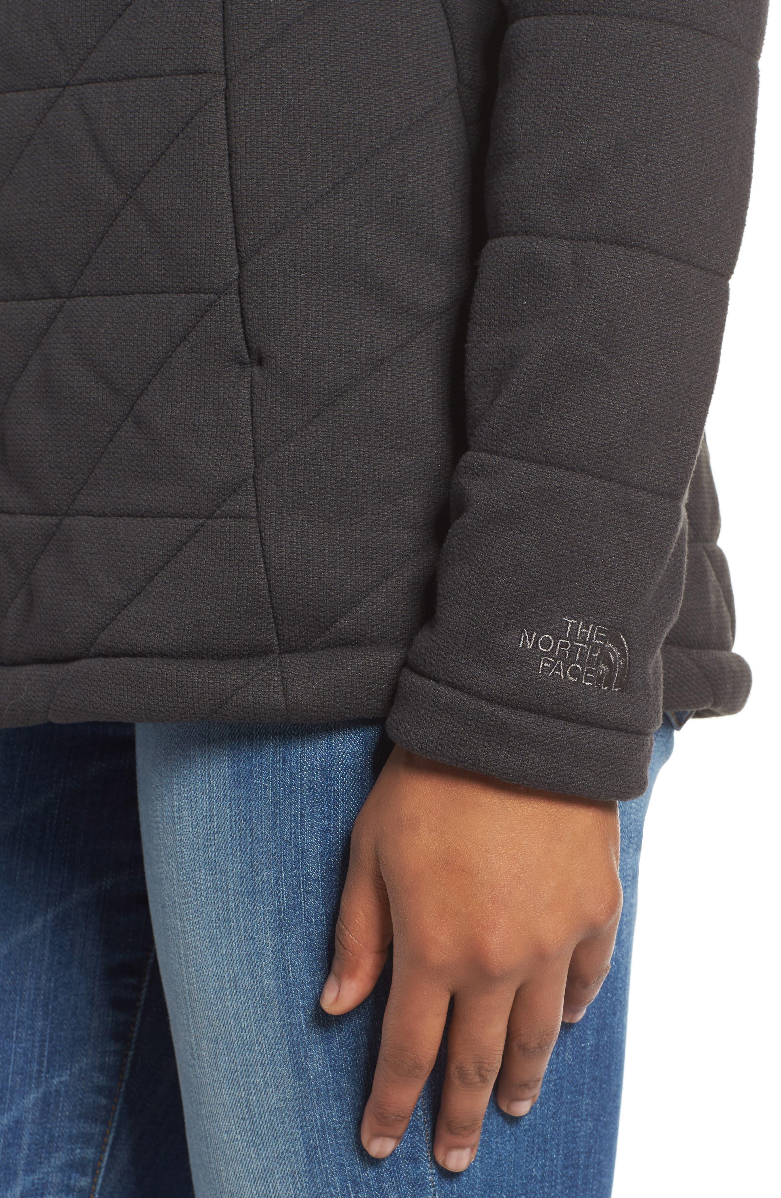 Fleece Jacket,                             Alternate thumbnail 4, color,                             001