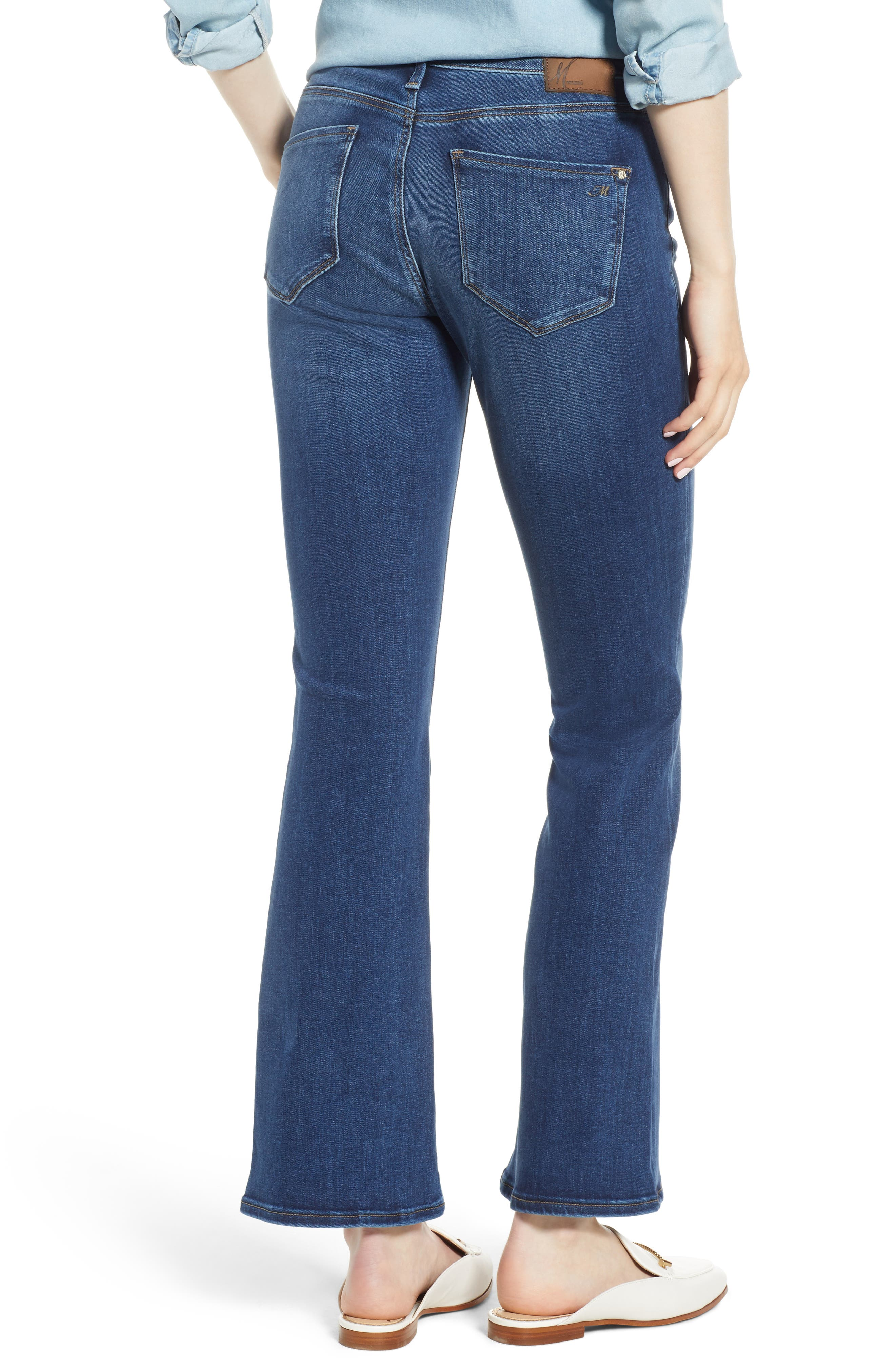 Molly Classic Bootcut Jeans,                             Alternate thumbnail 2, color,                             INDIGO SUPERSOFT