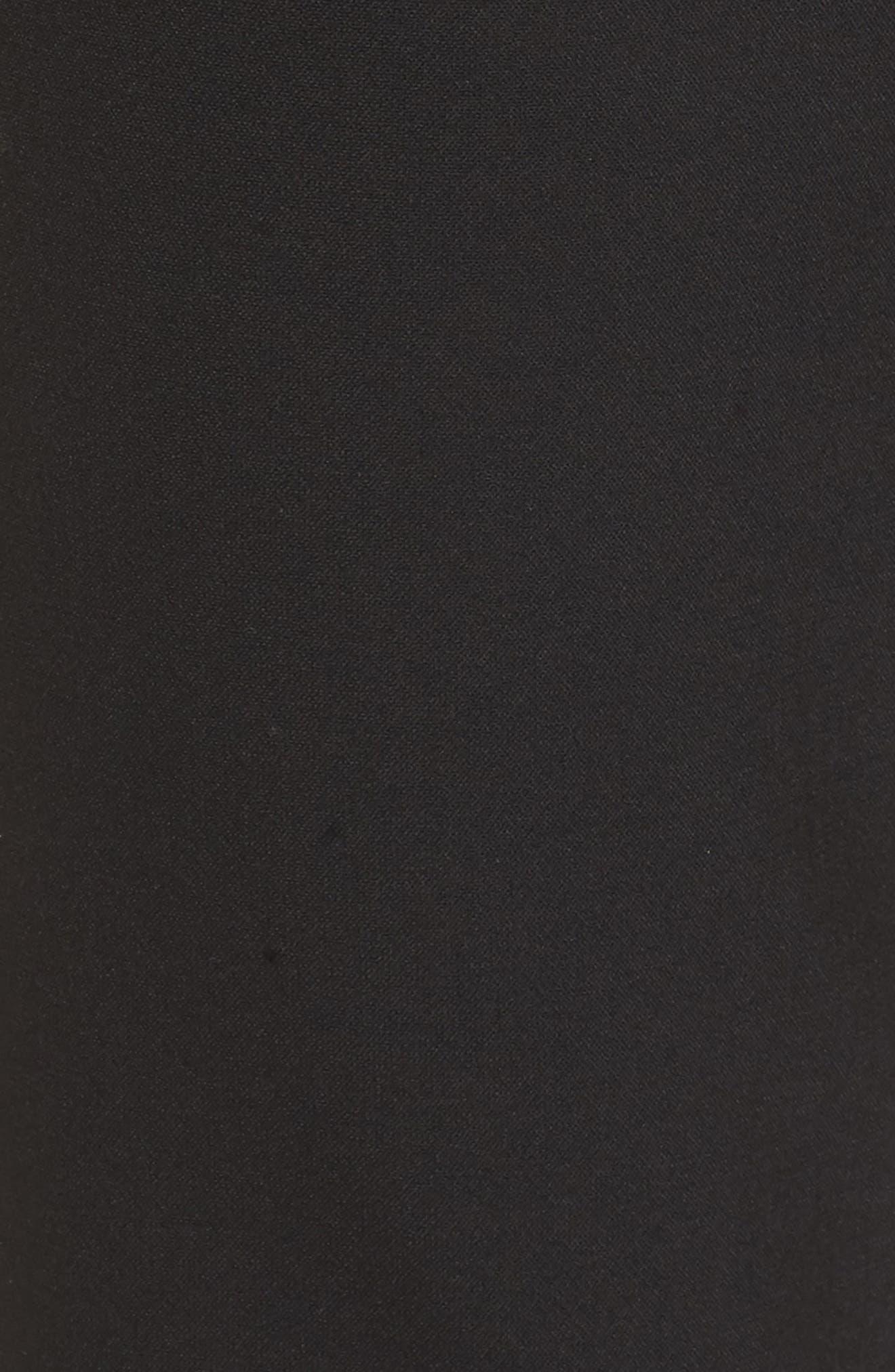 Tiokenia Slim Leg Trousers,                             Alternate thumbnail 5, color,                             001