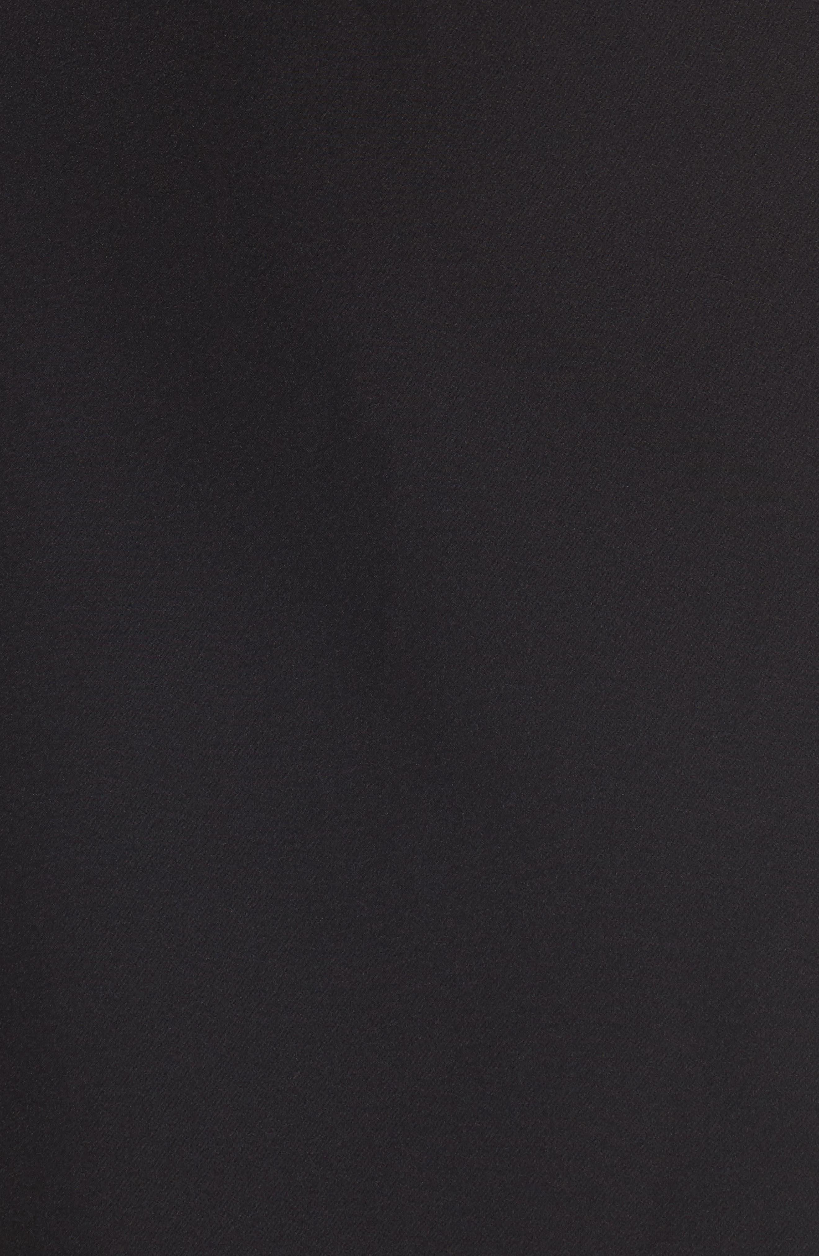 Layne One-Shoulder Dress,                             Alternate thumbnail 5, color,                             001