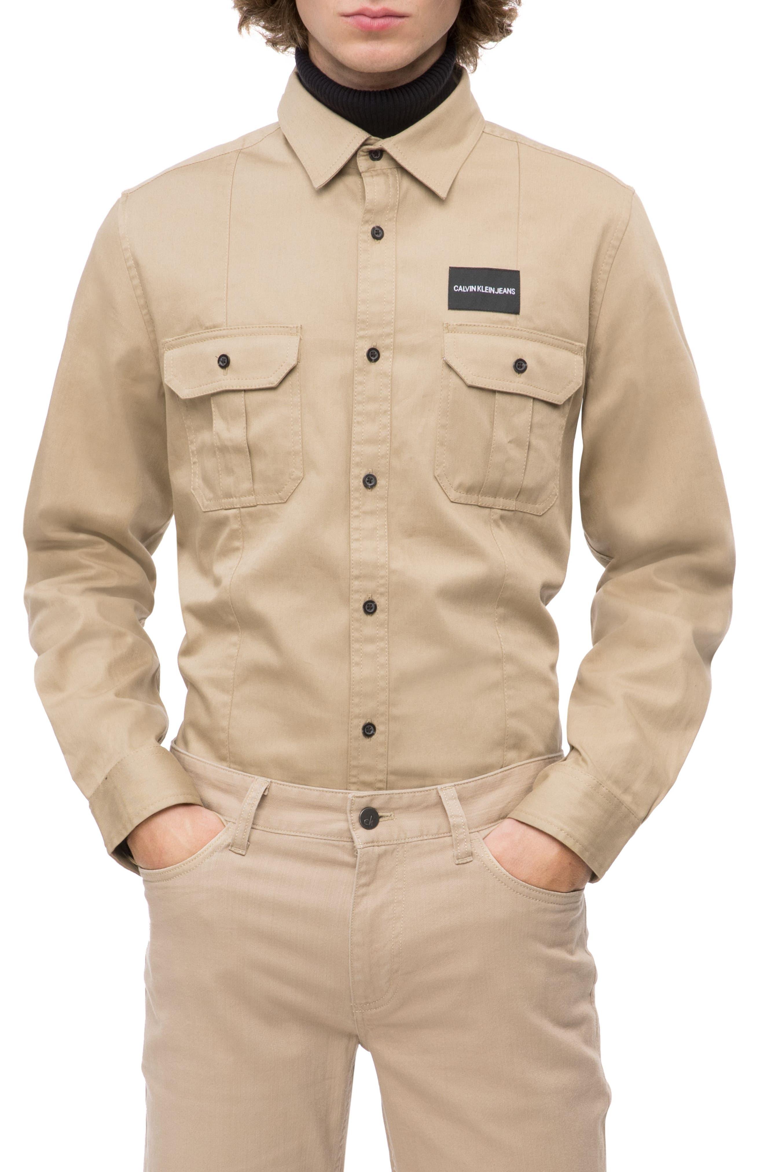 Military Shirt,                             Main thumbnail 1, color,                             252