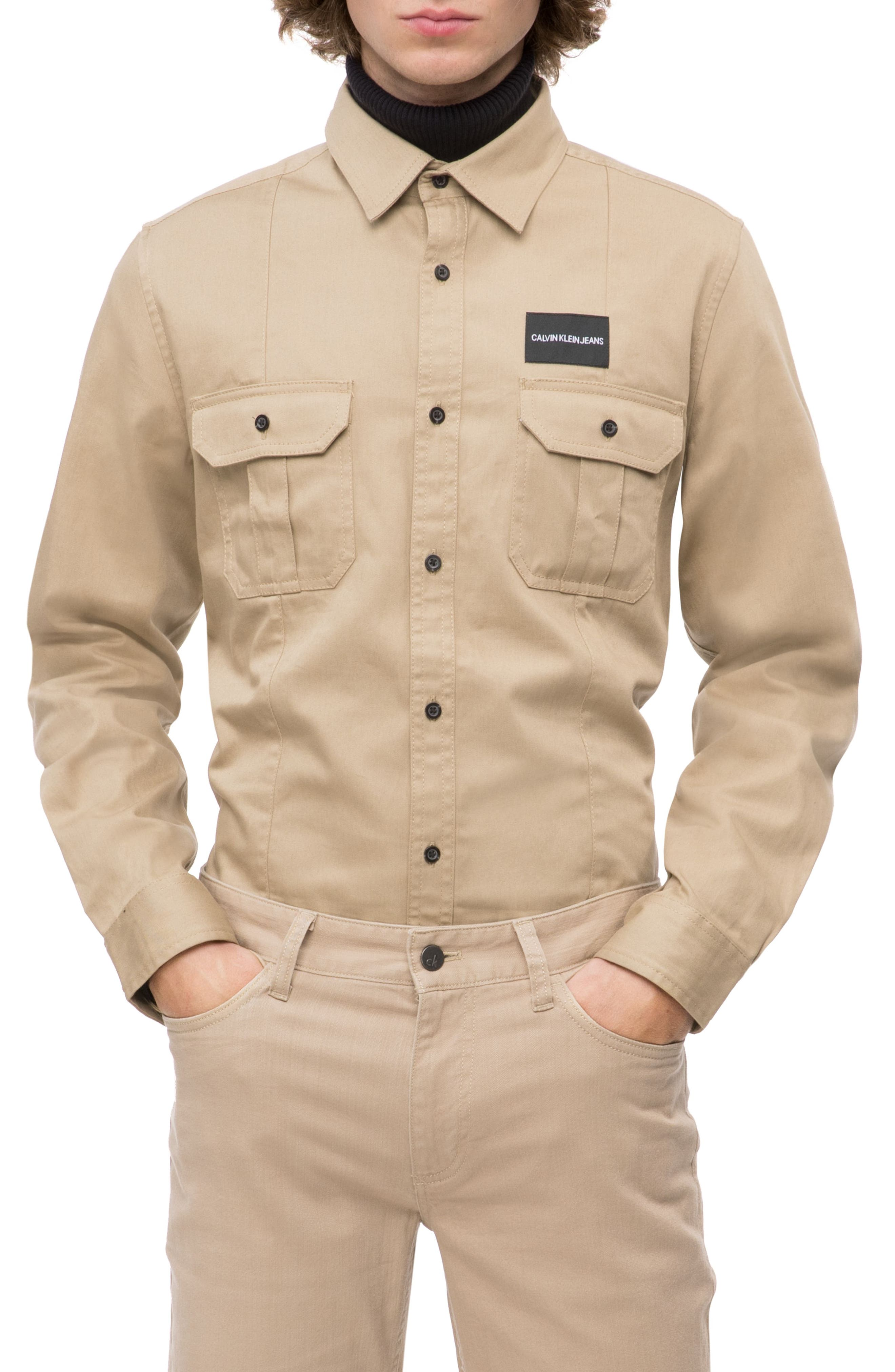 Military Shirt,                         Main,                         color, CANTUCCI