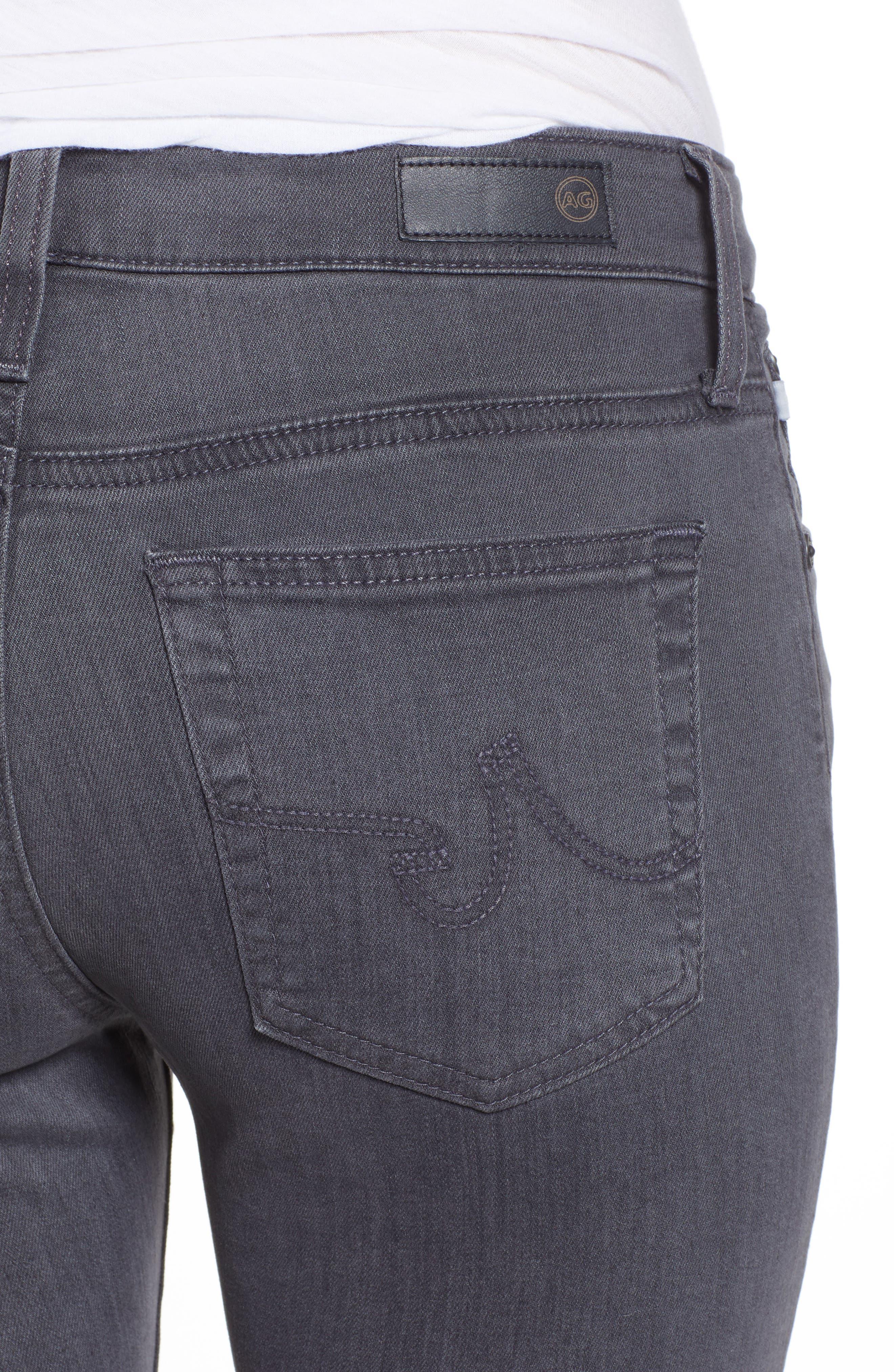 The Farrah High Waist Ankle Skinny Faux Leather Pants,                             Alternate thumbnail 13, color,